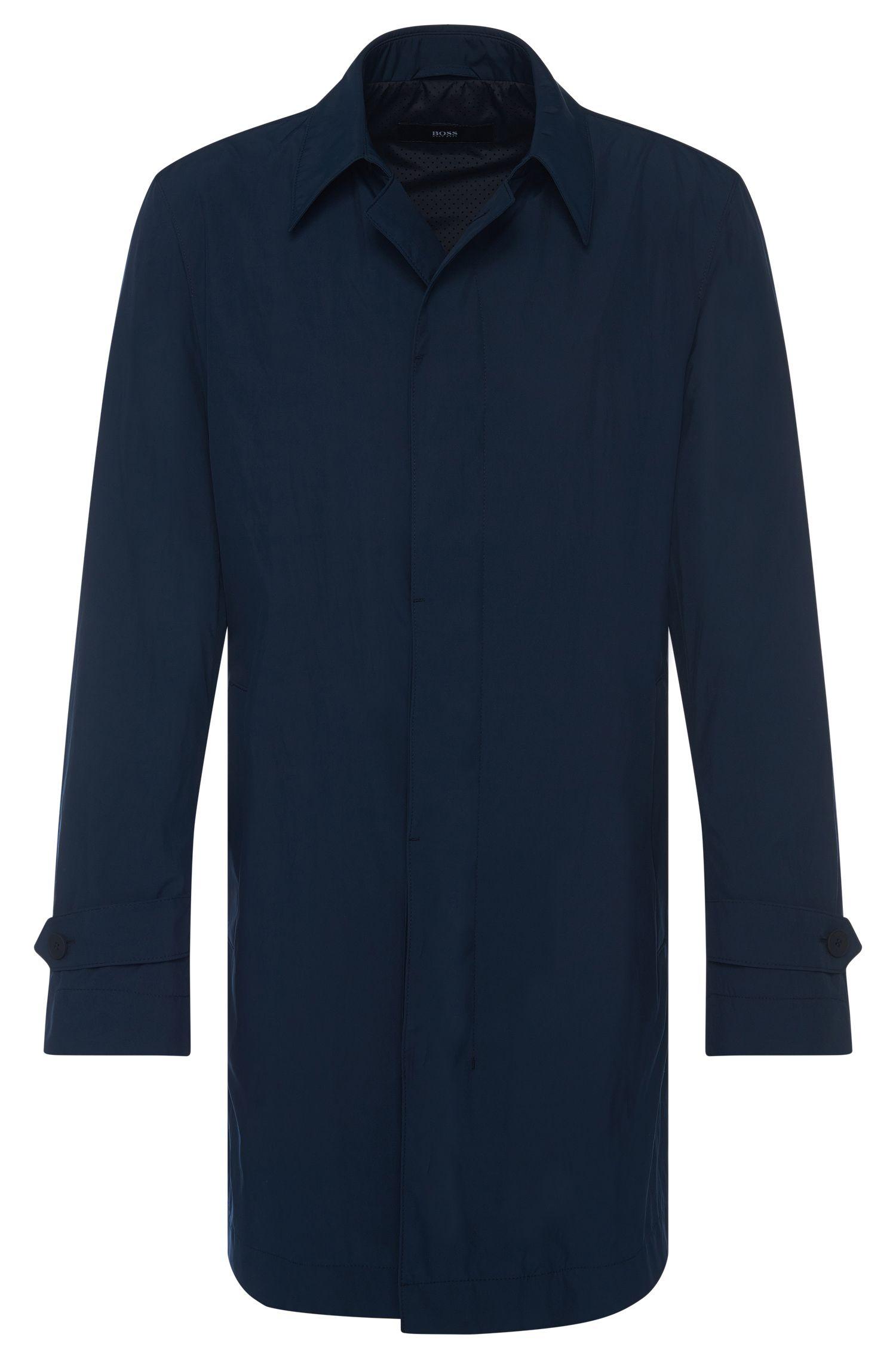 Abrigo impermeable regular fit con tapeta de botones oculta: 'Garret2'