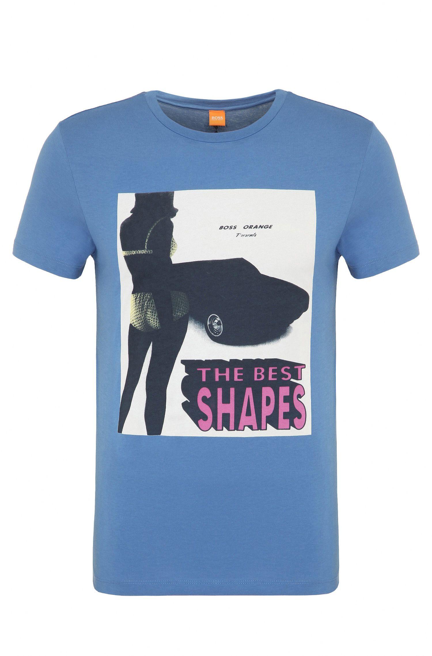 Regular-Fit T-Shirt mit Foto-Print: ´Tacket 2`