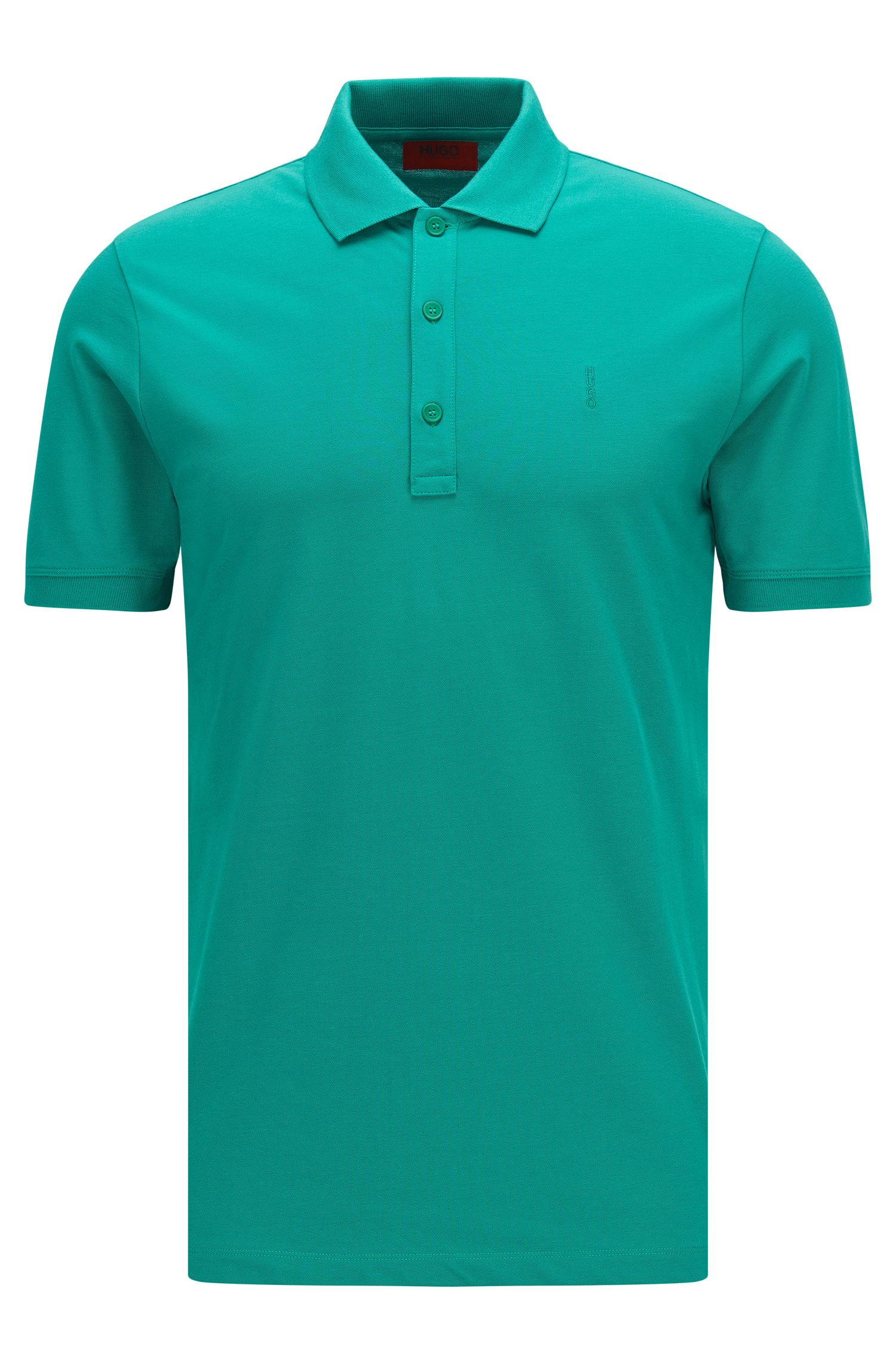 Slim-Fit Poloshirt aus Stretch-Baumwolle: 'Nono'