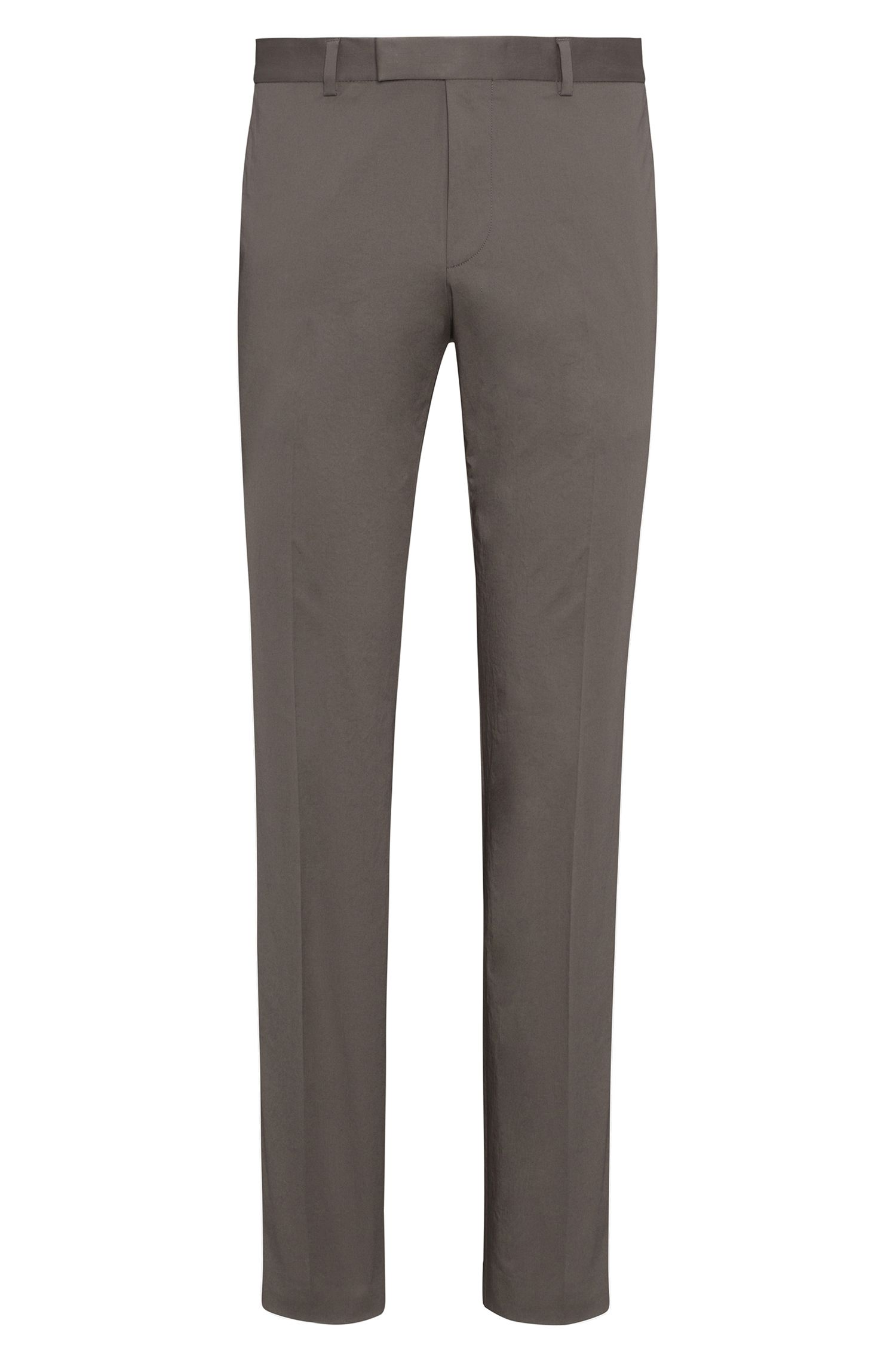 Pantalon Extra Slim Fit en coton Oxford stretch