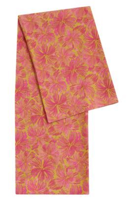 Patterned scarf in cotton blend with silk: 'Women-Z 540', Patterned