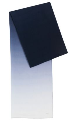 Transparenter Schal mit Farbverlauf: 'Women-Z 537', Gemustert