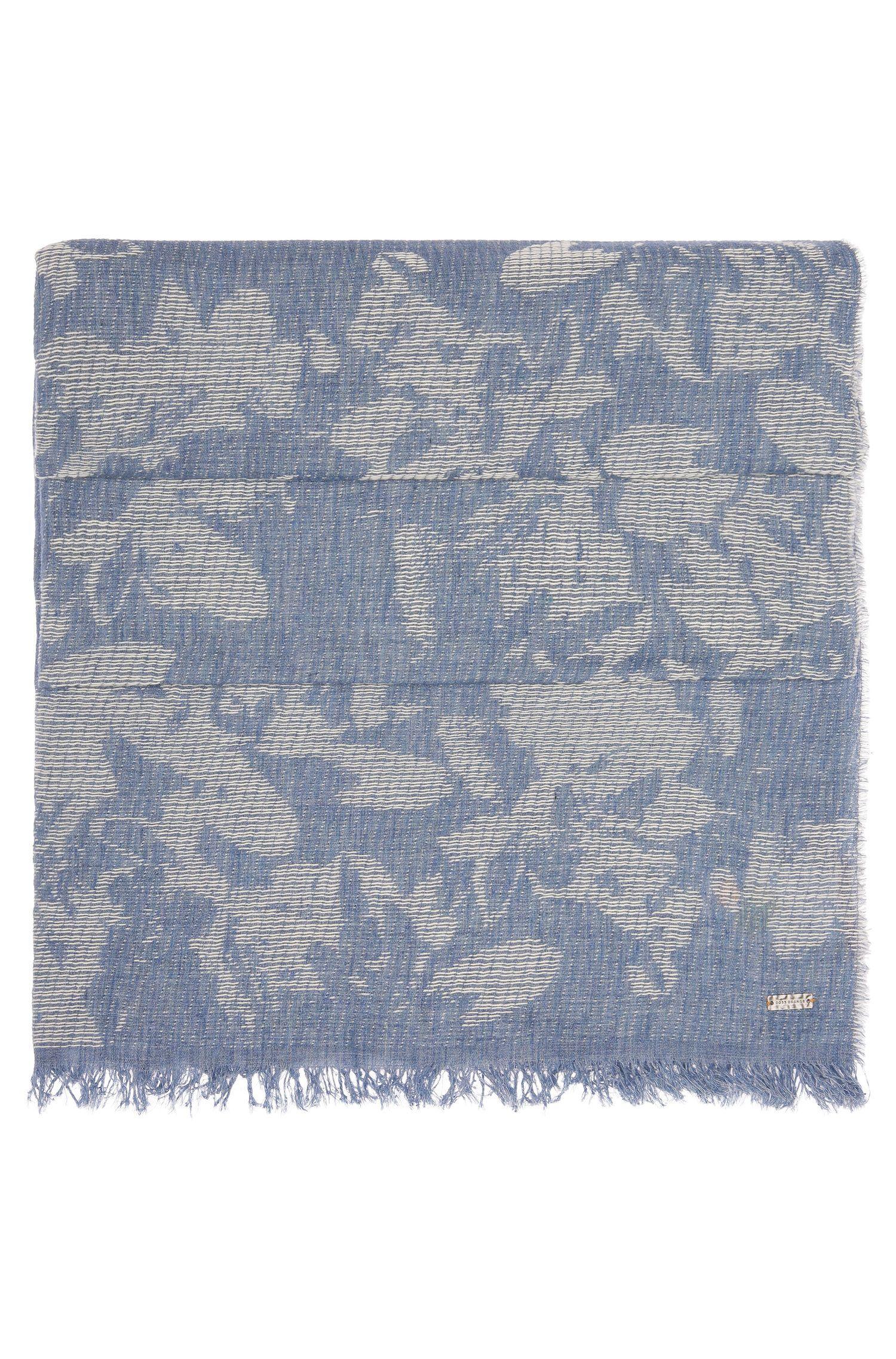Chal tejido estampado en algodón: 'Naflage'