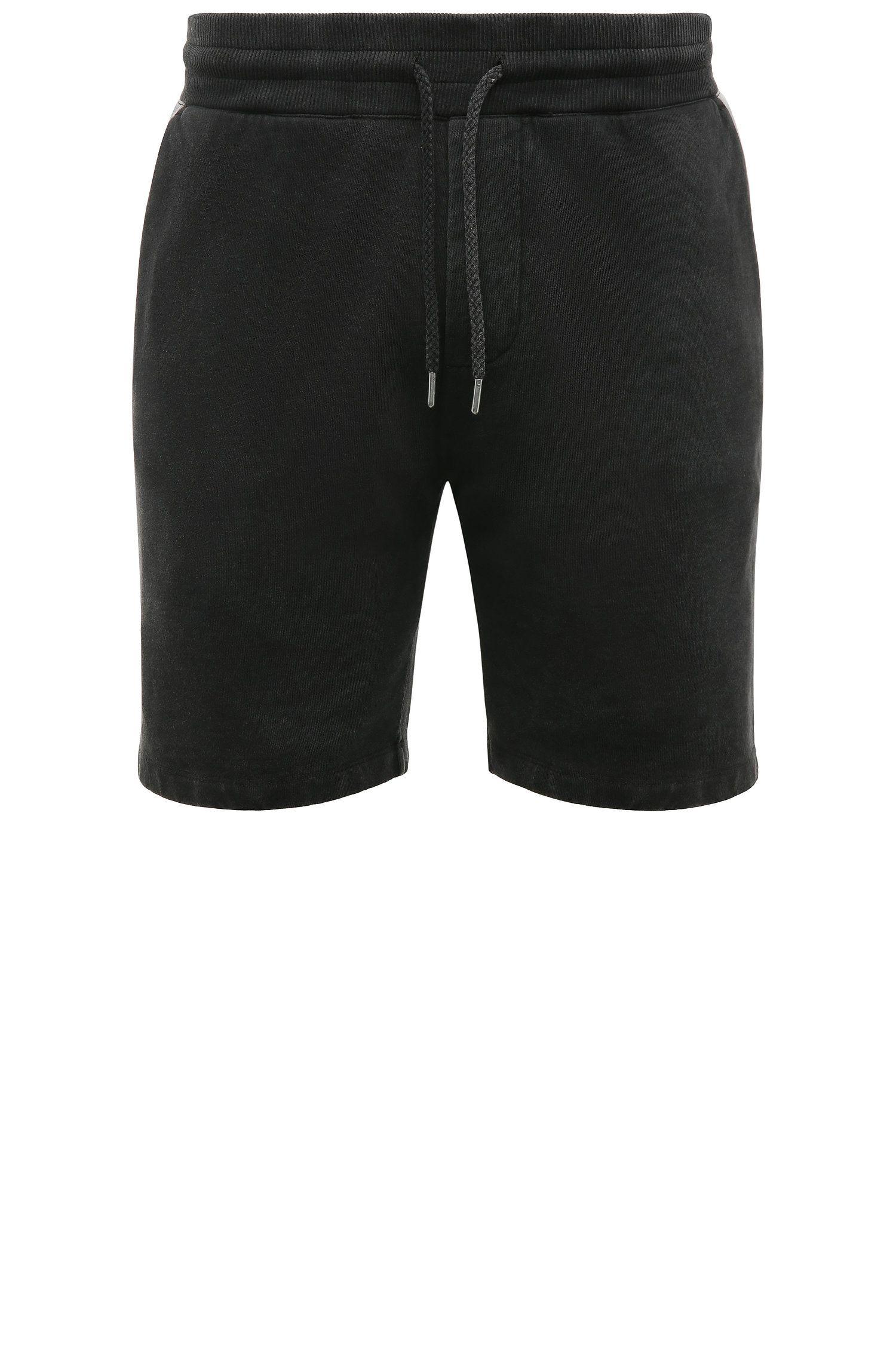 Regular-Fit Shorts aus Baumwolle mit Used-Waschung: ´Syd`