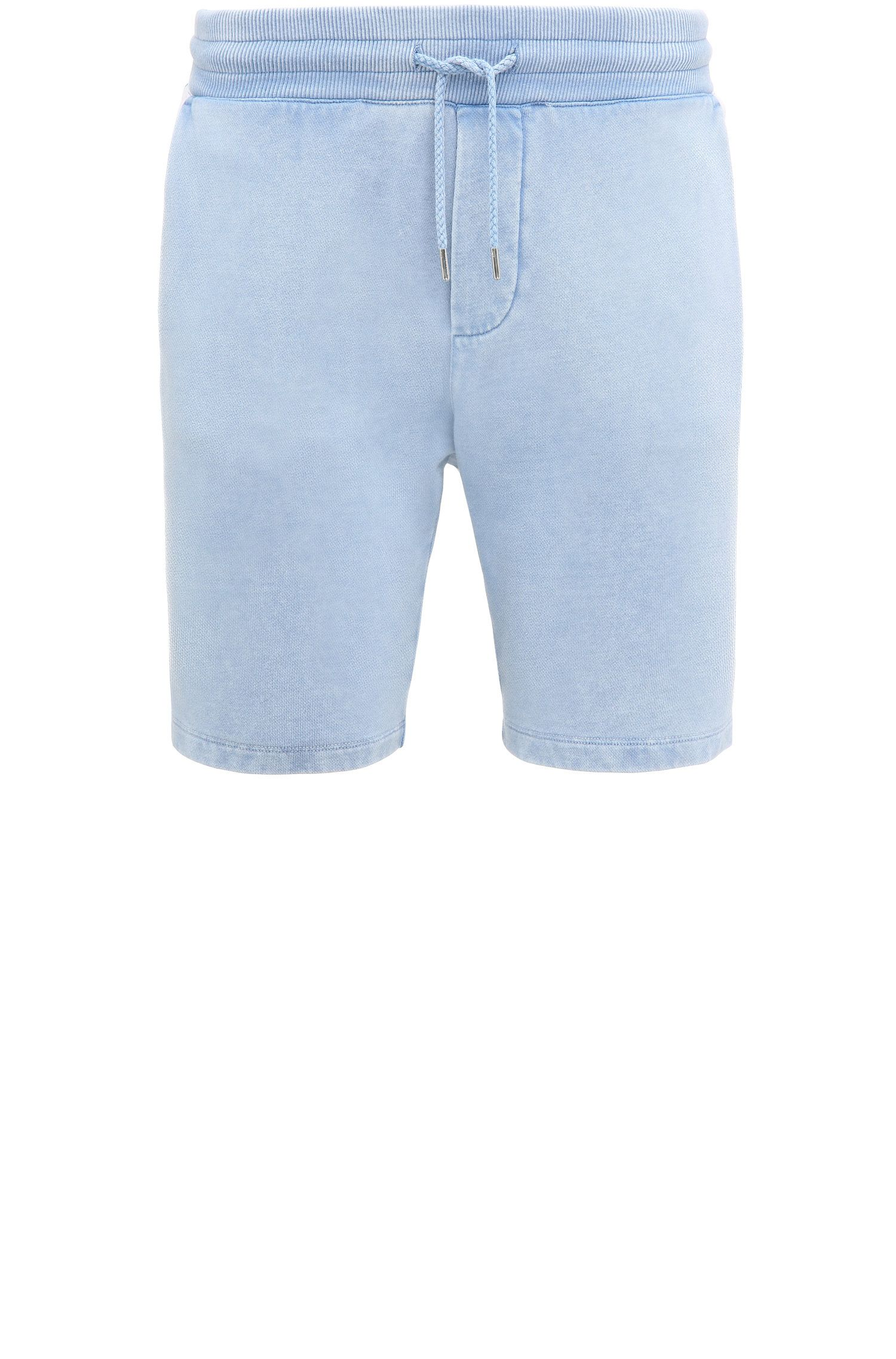 Shorts regular fit en algodón con lavado vintage: 'Syd'