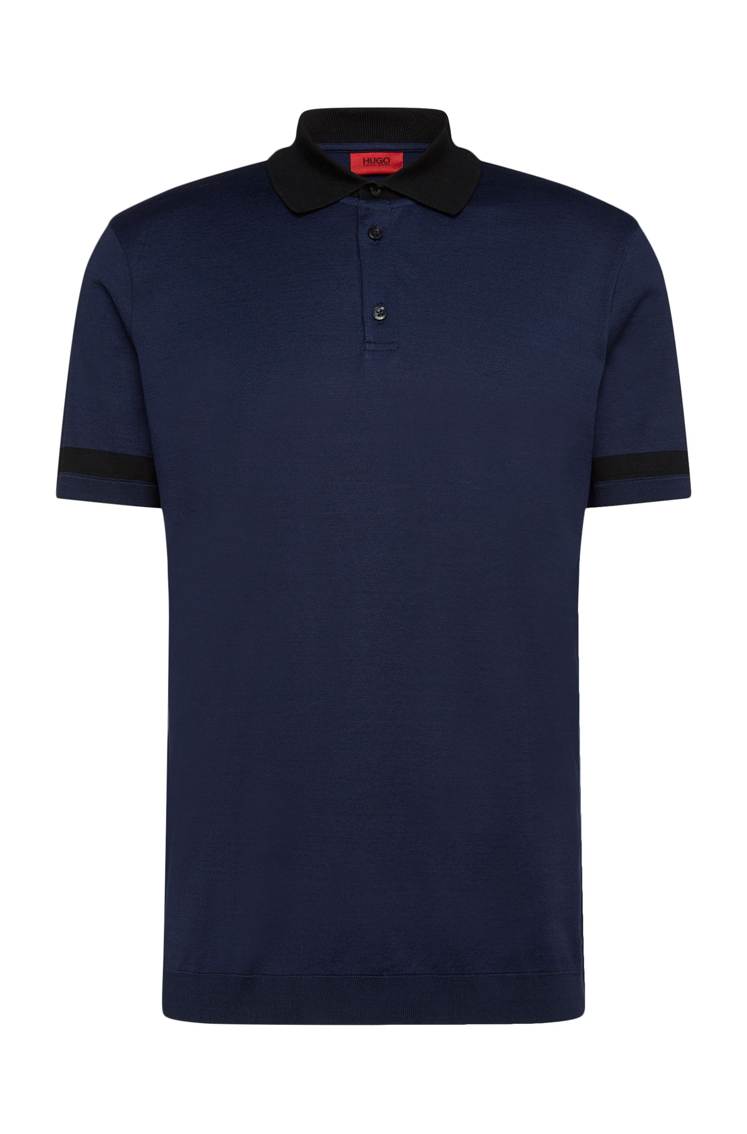 Polo regular fit en algodón elástico: 'Dharp'
