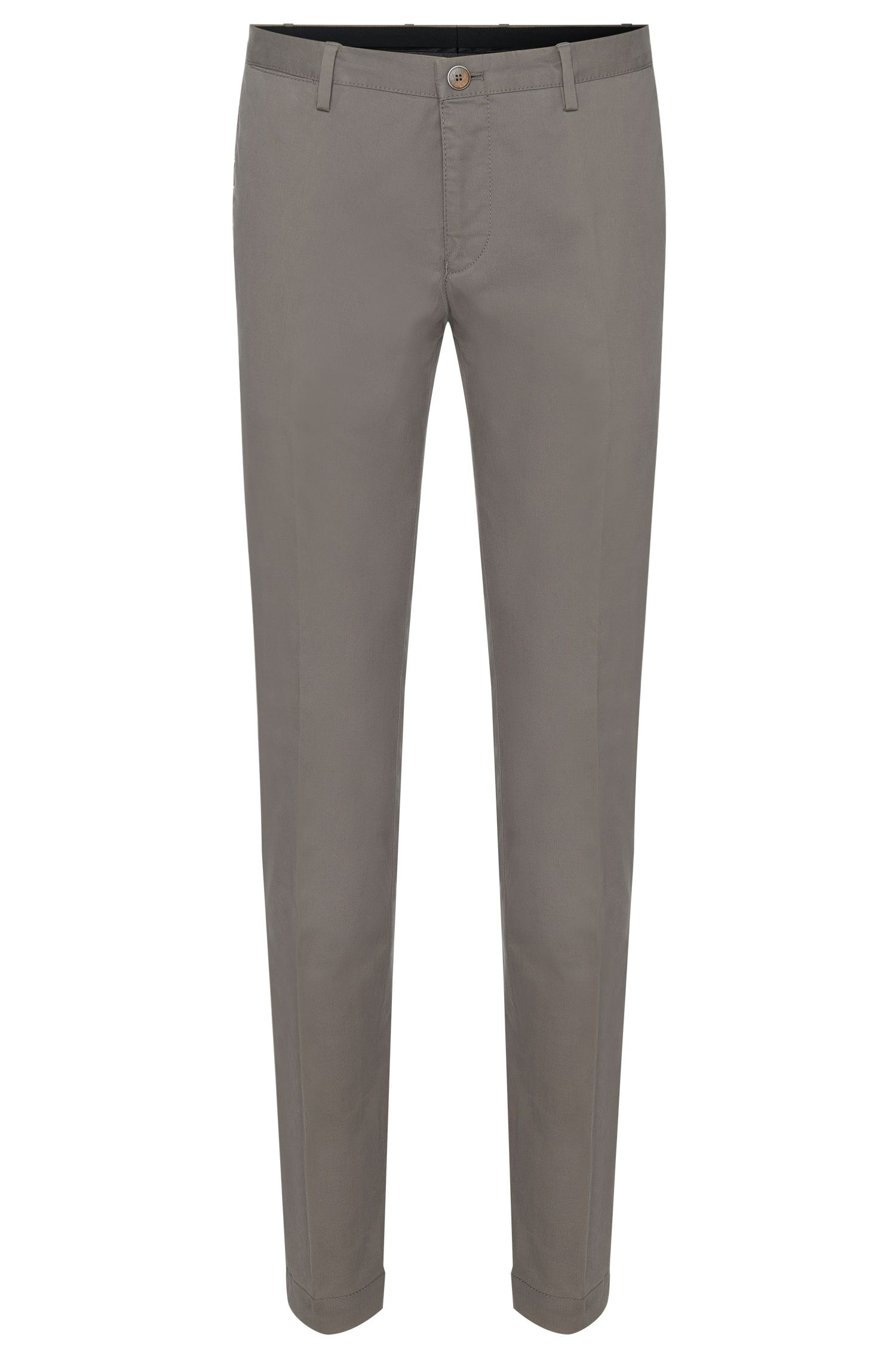 Chino Slim Fit en coton extensible : « Stanino 16-W »