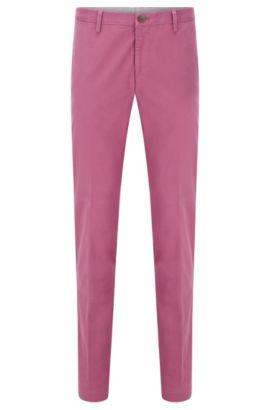 Chinos slim fit en algodón elástico: 'Stanino 16-W', Pink