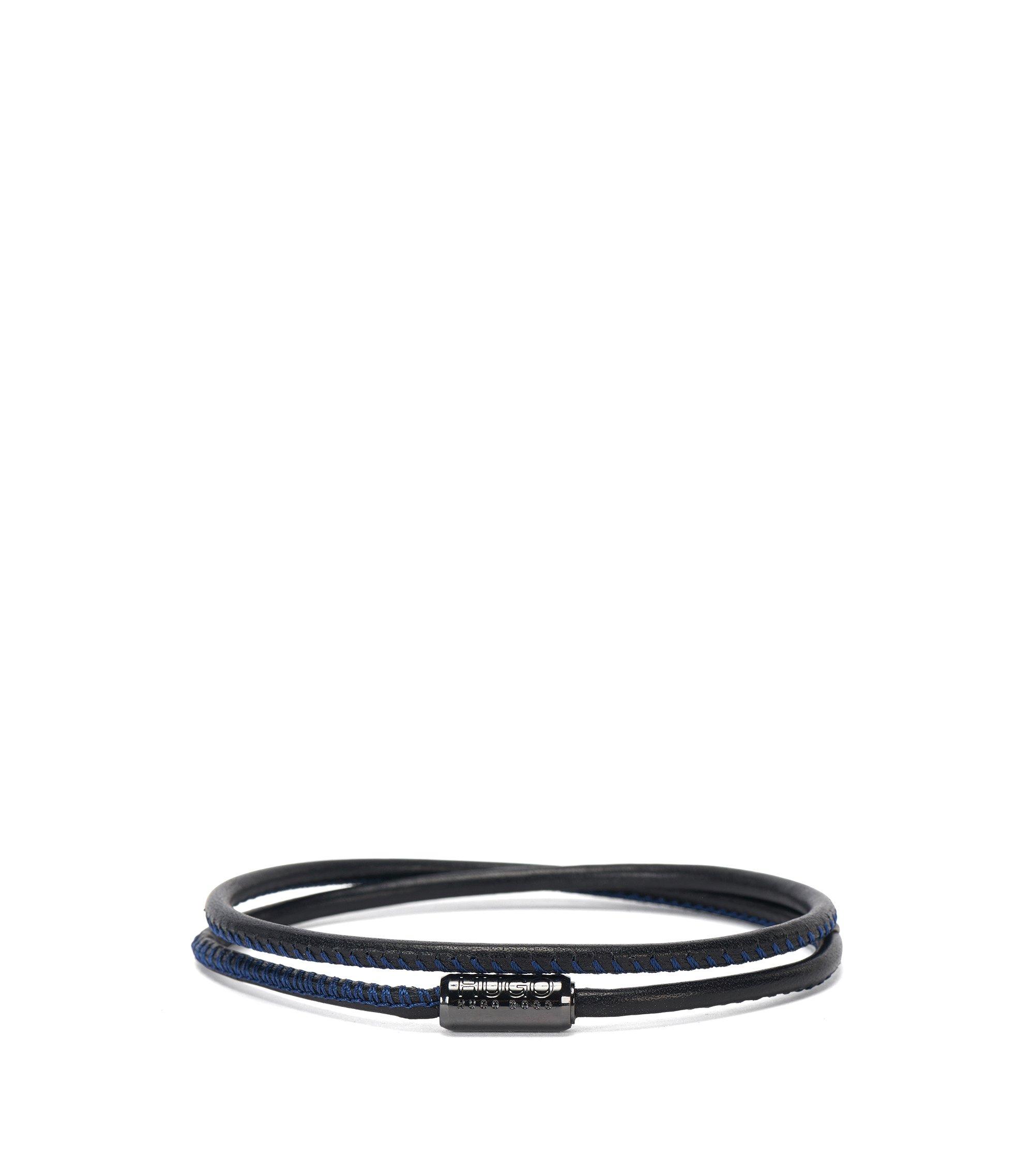 Armband van Italiaans kalfsleer met magneetsluiting, Bedrukt