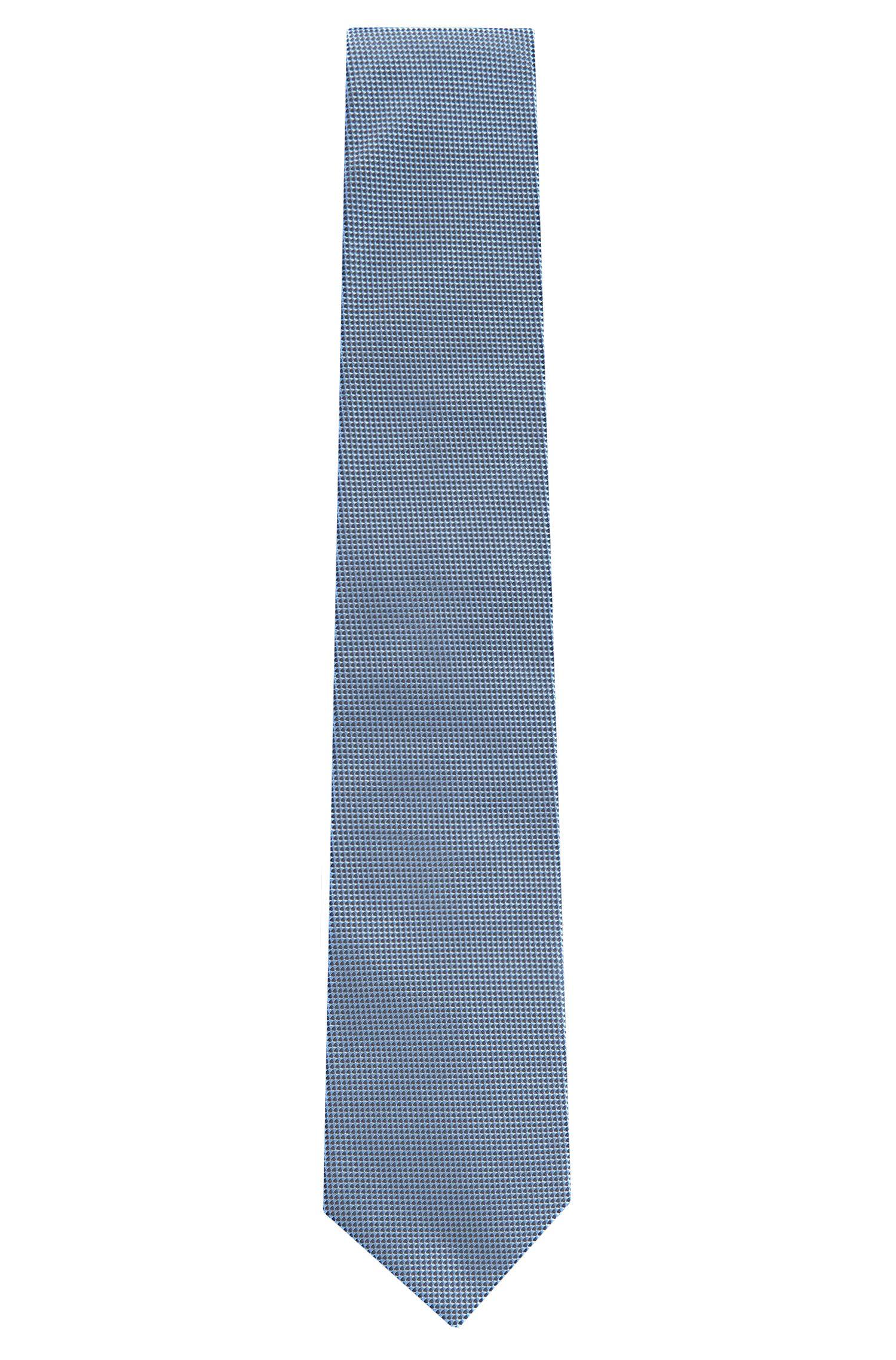 Cravate en soie à motif fin: «Tie7,5cm»