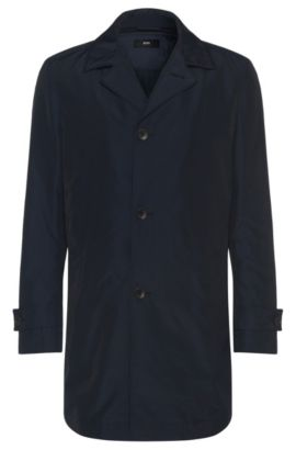 Slim-fit coat with a detachable lining: 'Donis2', Blue