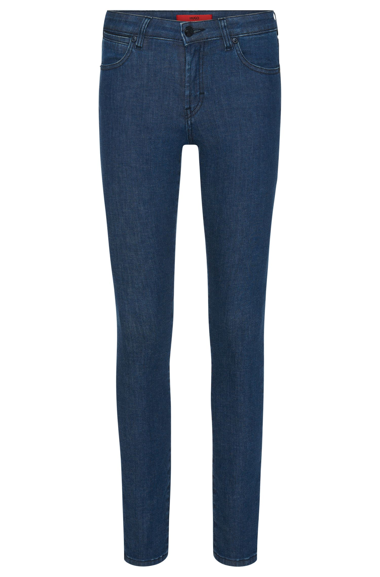 Slim-fit jeans in stretch-cotton blend: 'Genty'