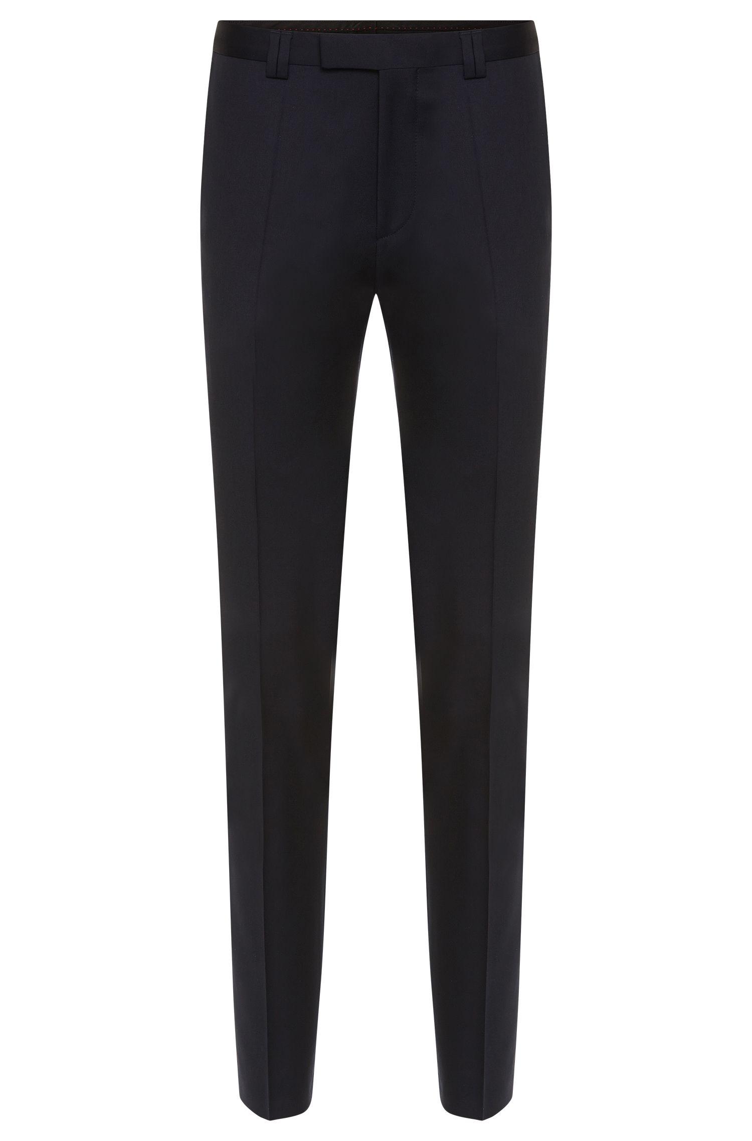 Pantaloni slim fit in lana vergine: 'Heilon'