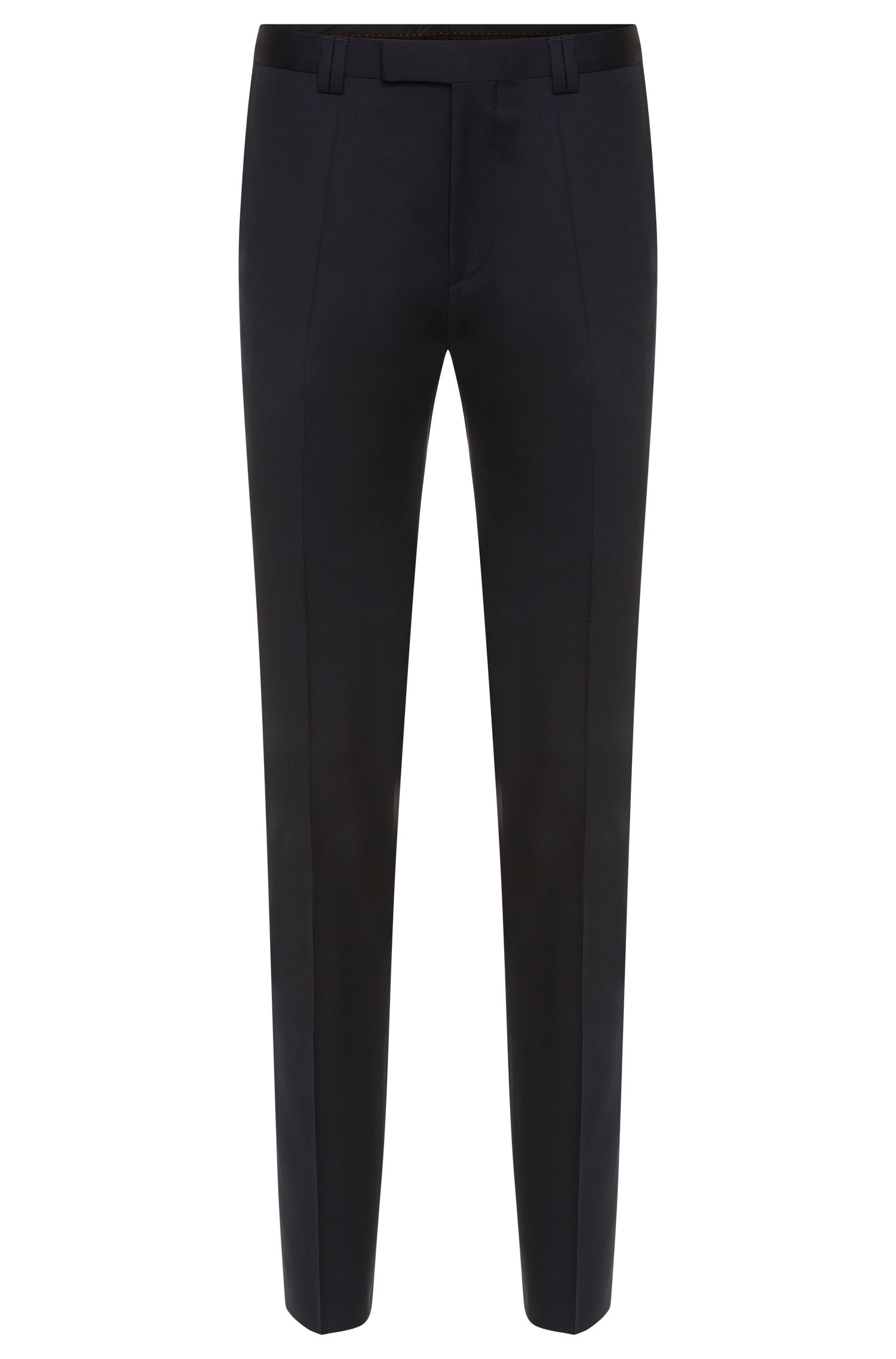 Slim-fit trousers in new wool: 'Heilon'