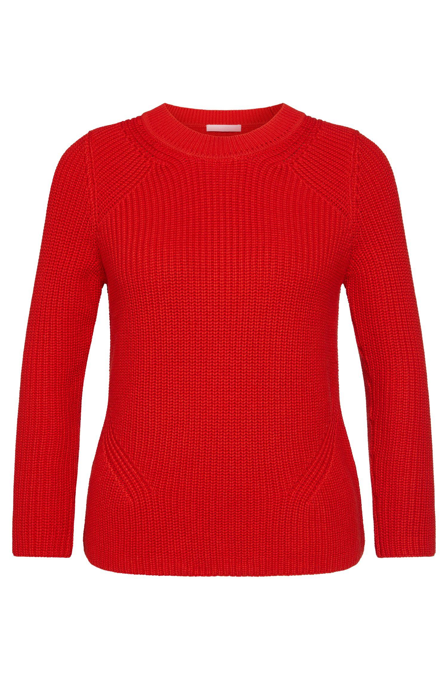 Jersey en mezcla de algodón con seda y cachemira: 'Febrara'