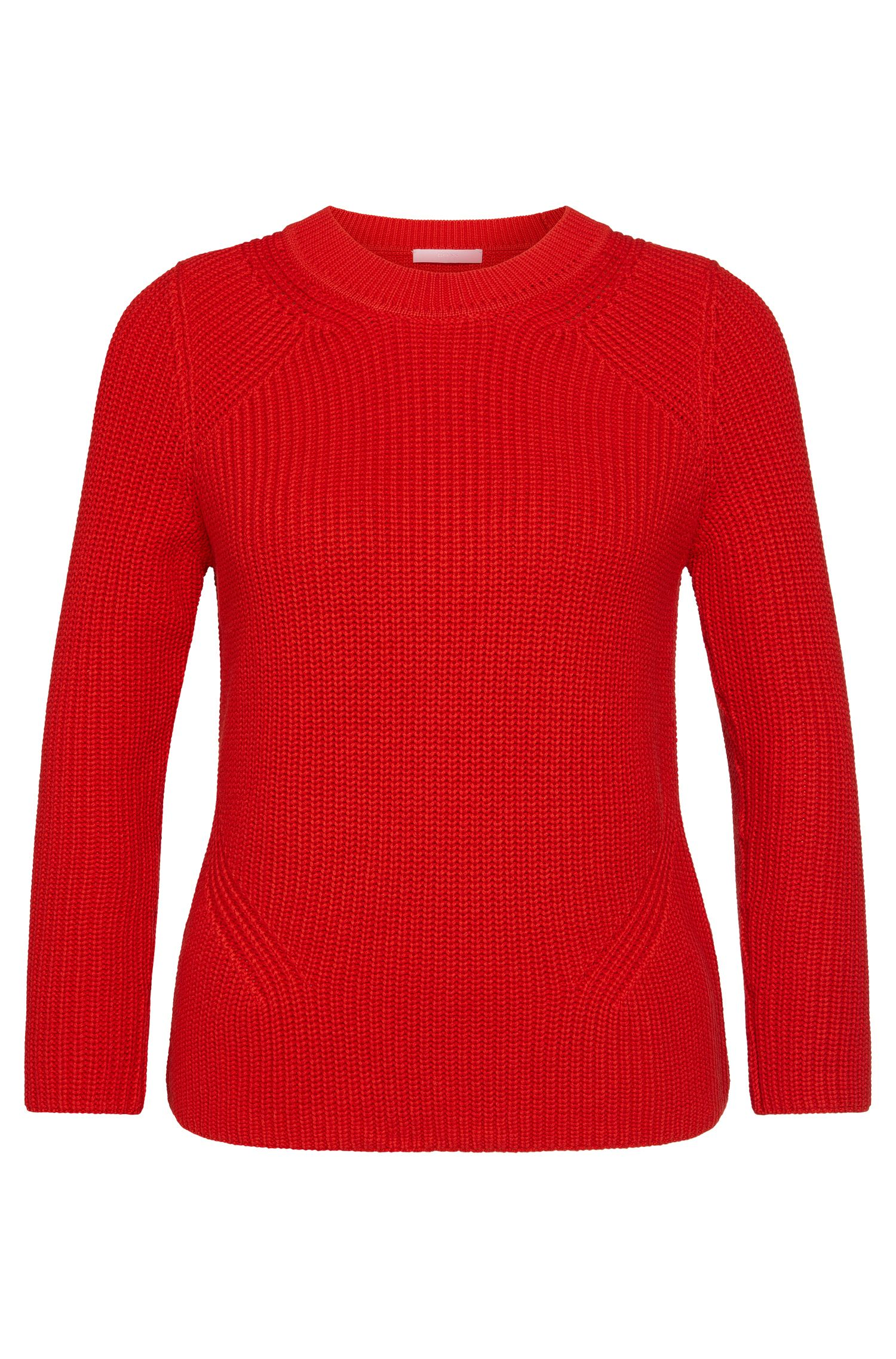 Sweater in a cotton blend with silk and cashmere: 'Febrara'