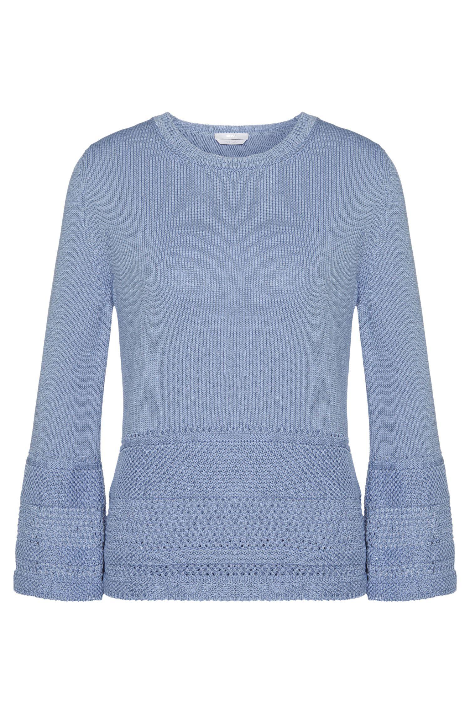 Jersey de algodón con estampado perforado: 'Fanchoni'