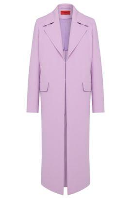Manteau à large col à revers: «Migela», Violet clair