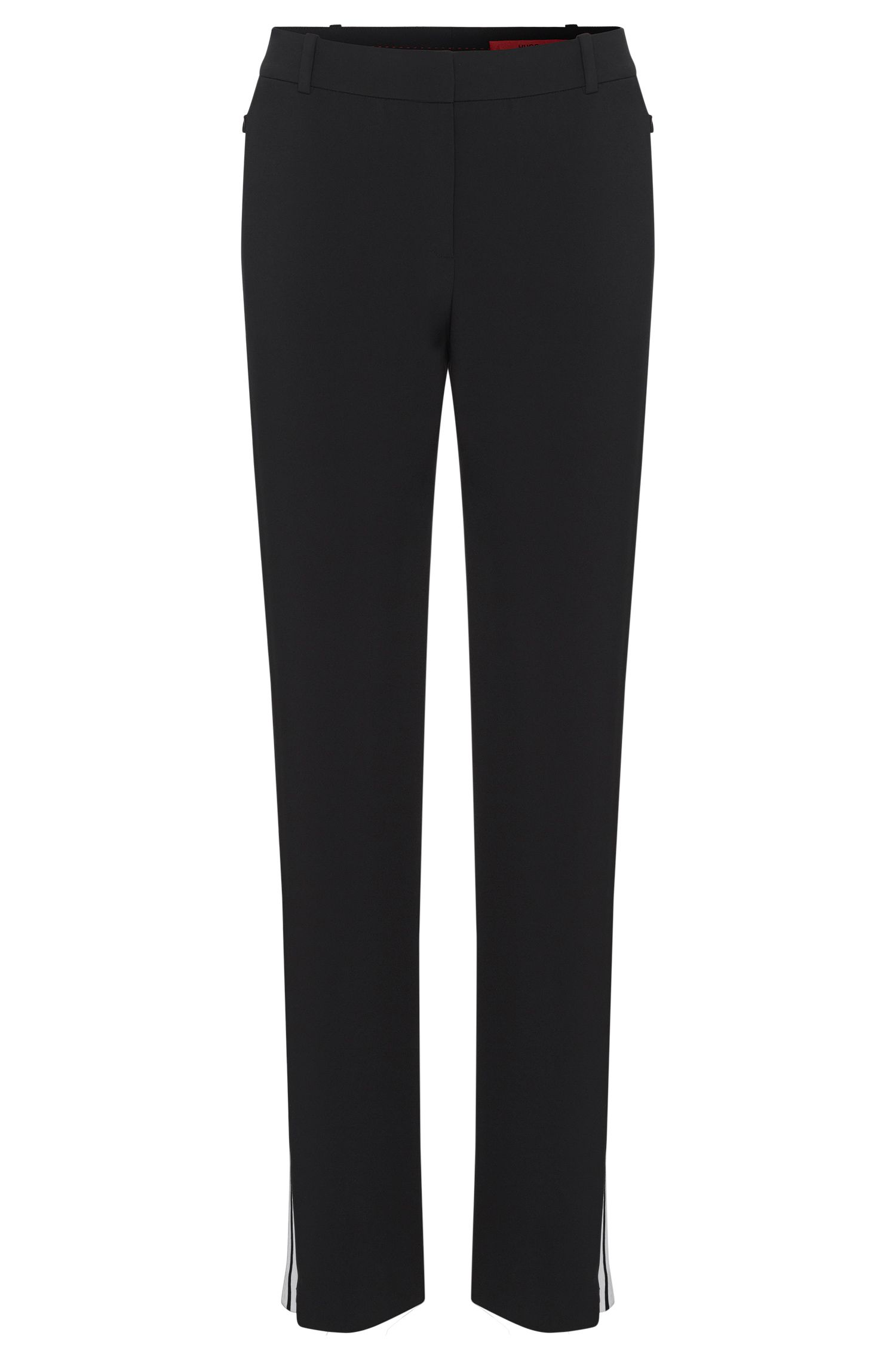 Trousers with contrasting colour trim: 'Haraya'