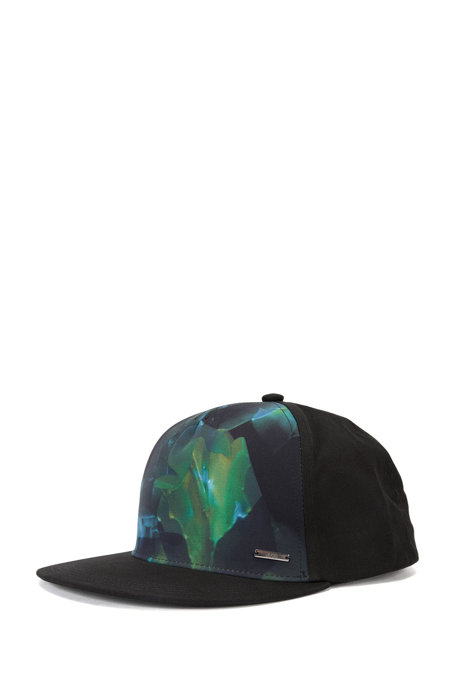 Cotton cap with printed front: 'Men-x 534'