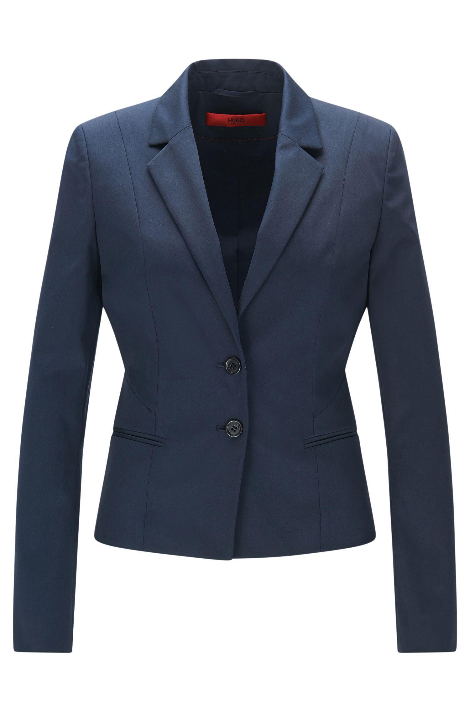 Taillierter Blazer aus Stretch-Baumwolle: 'Arkana'
