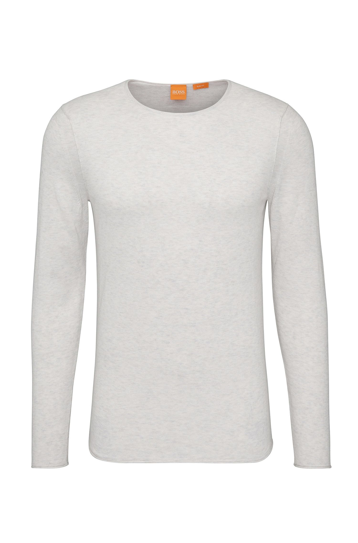 Knitwear sweater in cotton: 'Kwameros'