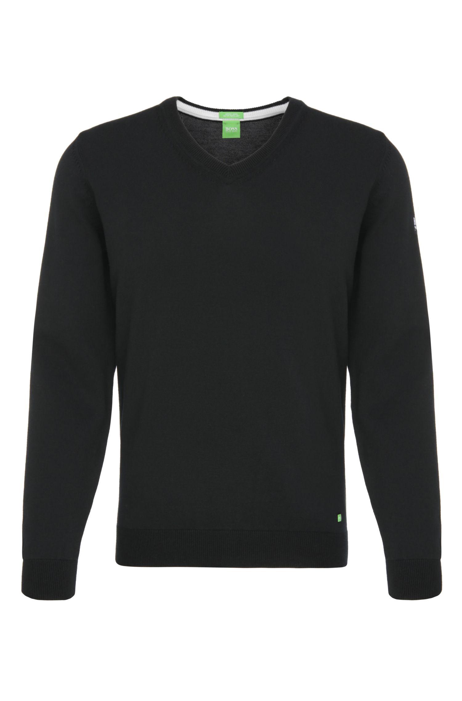 Pullover in maglia in lana vergine idrorepellente: 'Veeh_03'