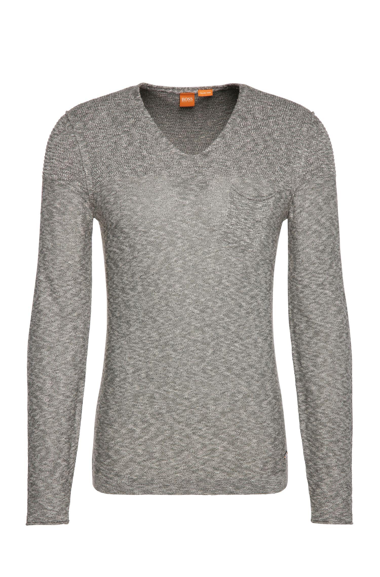 Pullover in maglia in misto cotone con viscosa: 'Abramut'