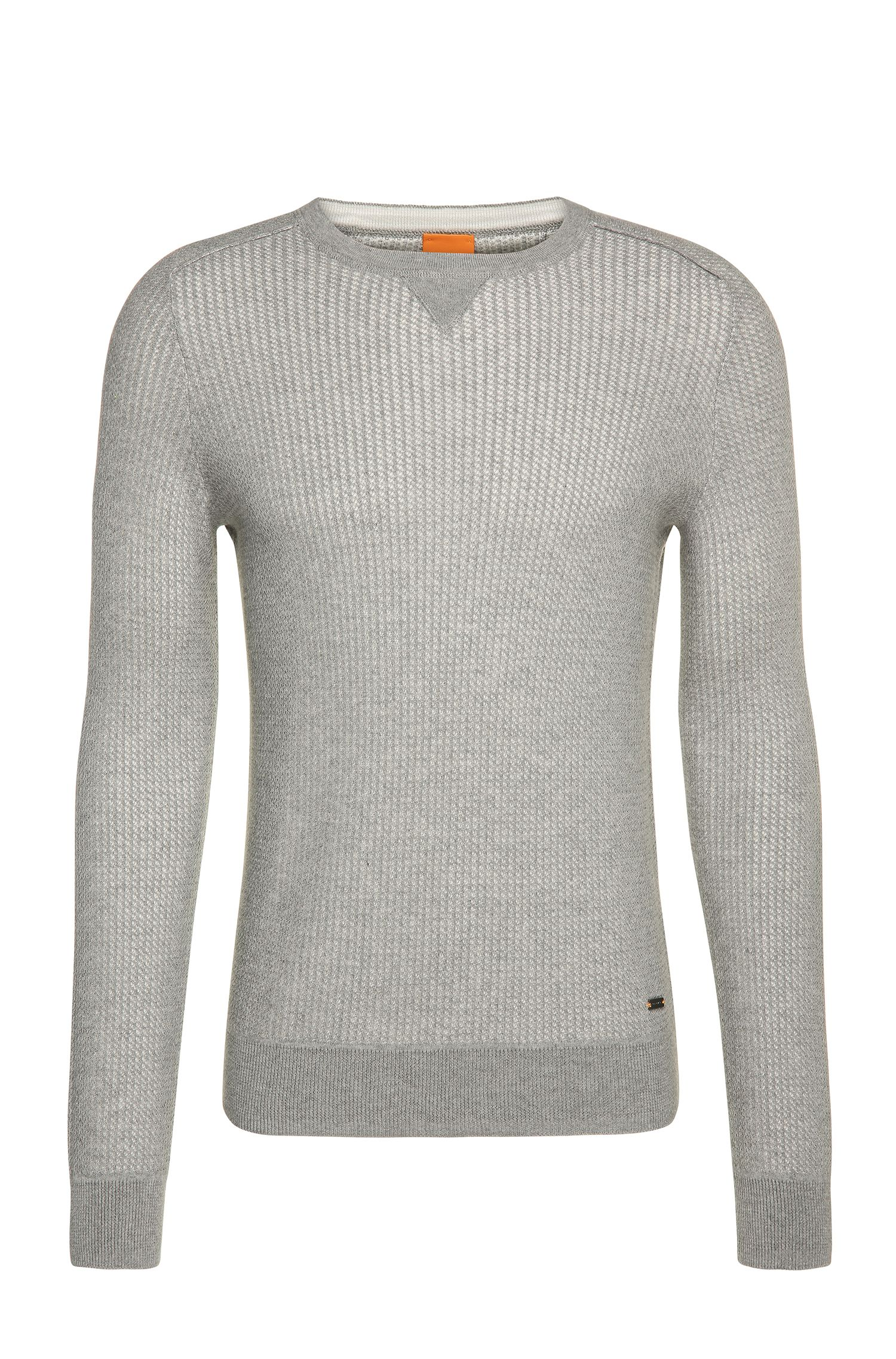 Knitwear sweater in cotton: 'Kawanan'