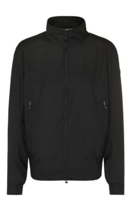 Regular-fit jacket in bomber-jacket style: 'B-Jakes 2', Black