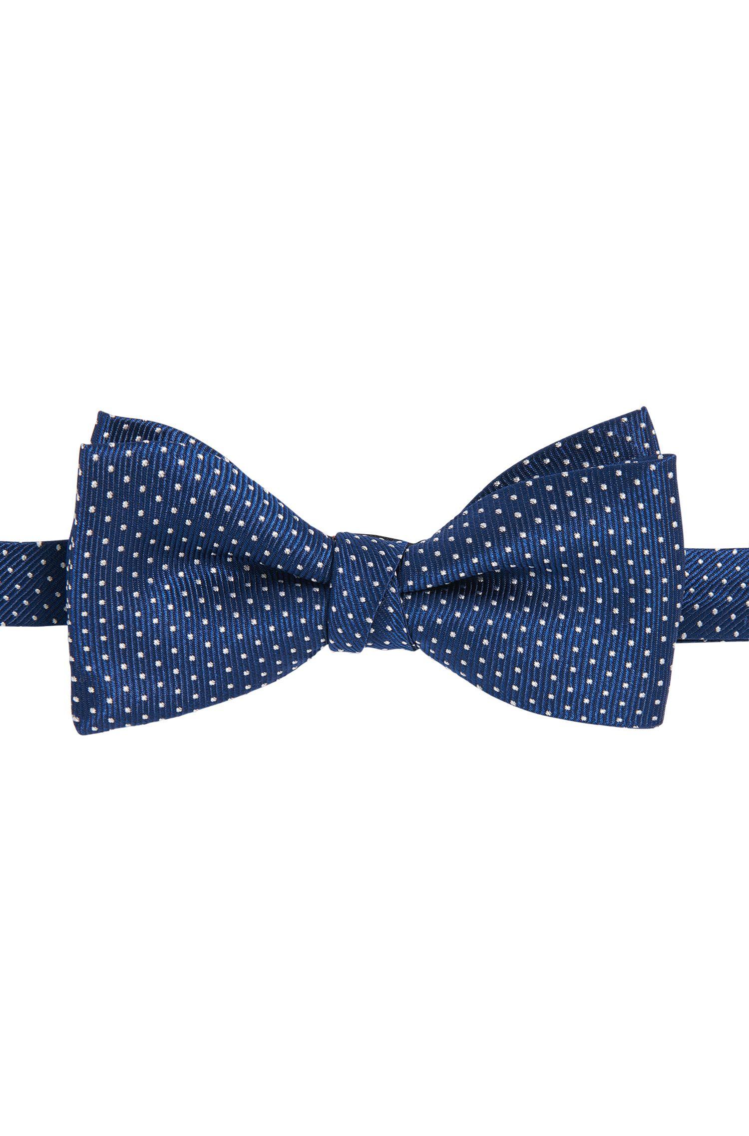 Pajarita de seda con puntos: 'Bow tie fashion'