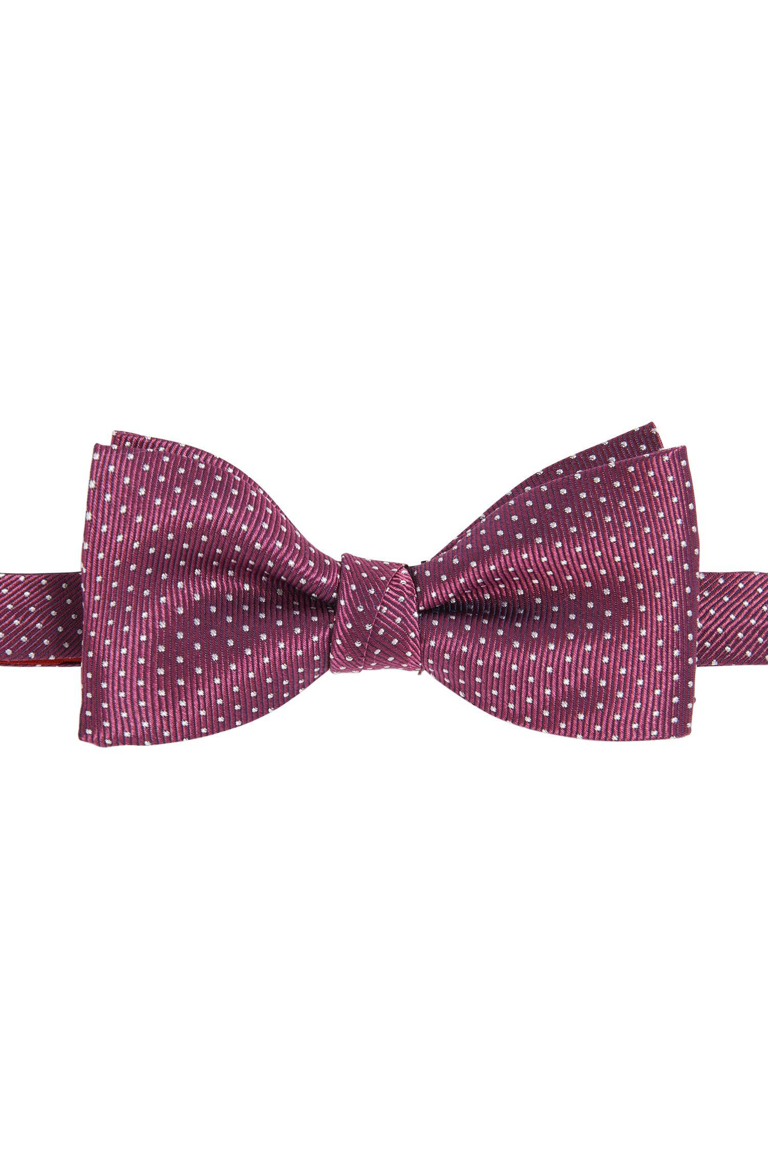 Nœud papillon en soie à pois: «Bow tie fashion»