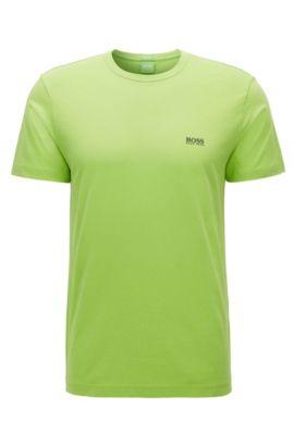 Regular-Fit T-Shirt aus Single-Jersey, Hellgrün