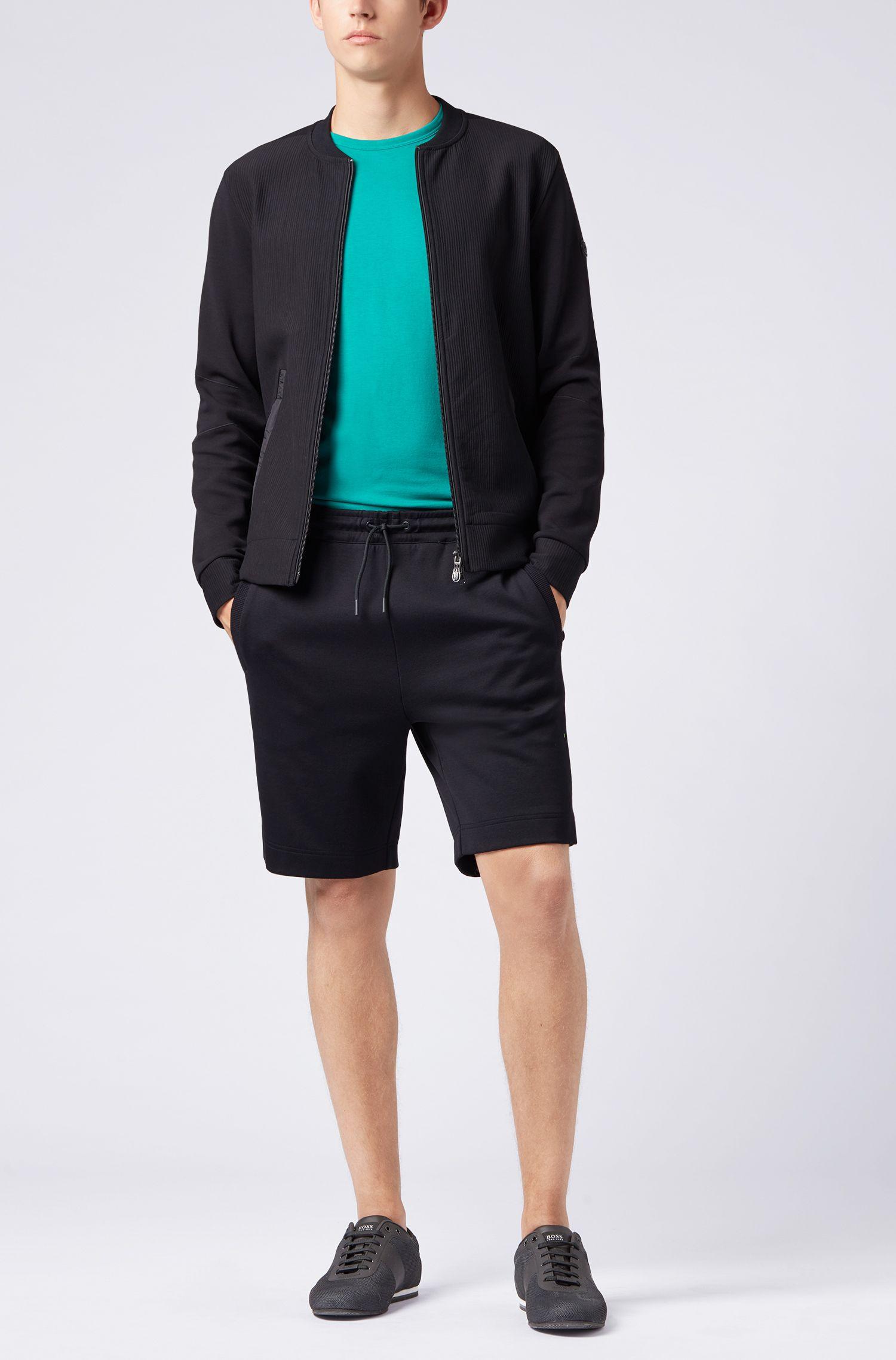 Regular-Fit T-Shirt aus Single Jersey, Grün