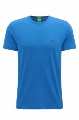 Regular-Fit T-Shirt aus Single-Jersey, Hellblau