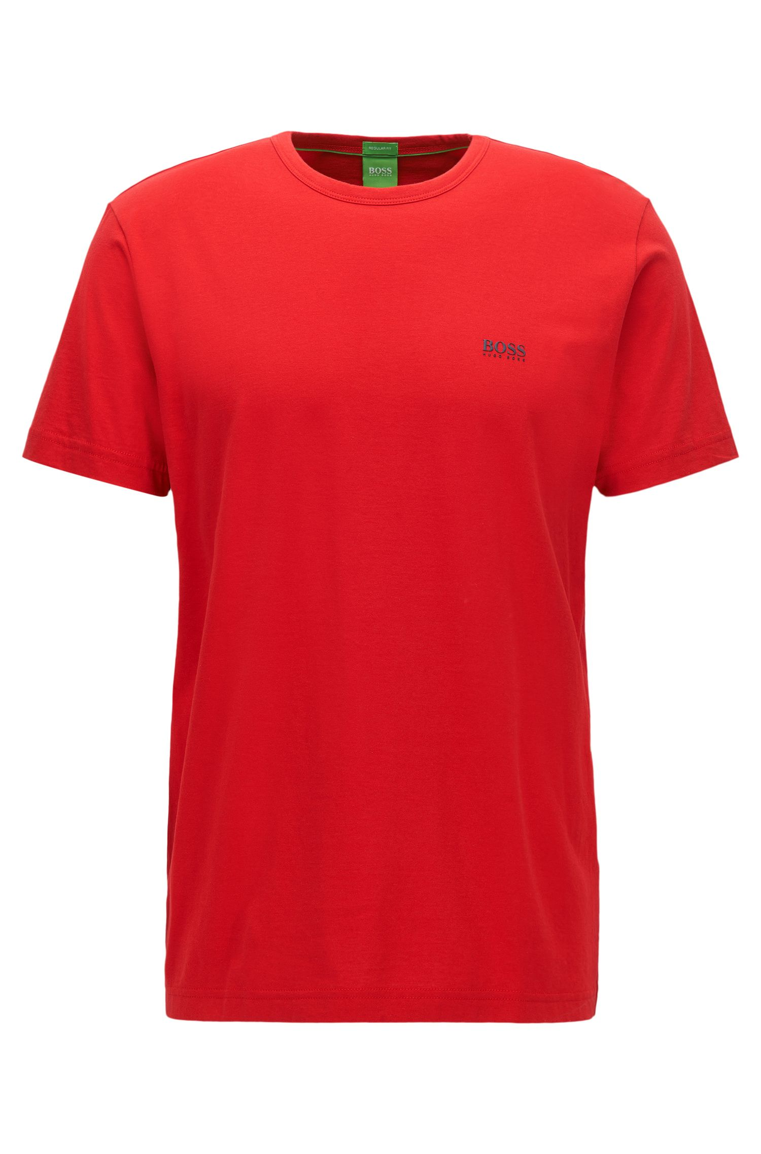 T-shirt Regular Fit en jersey simple