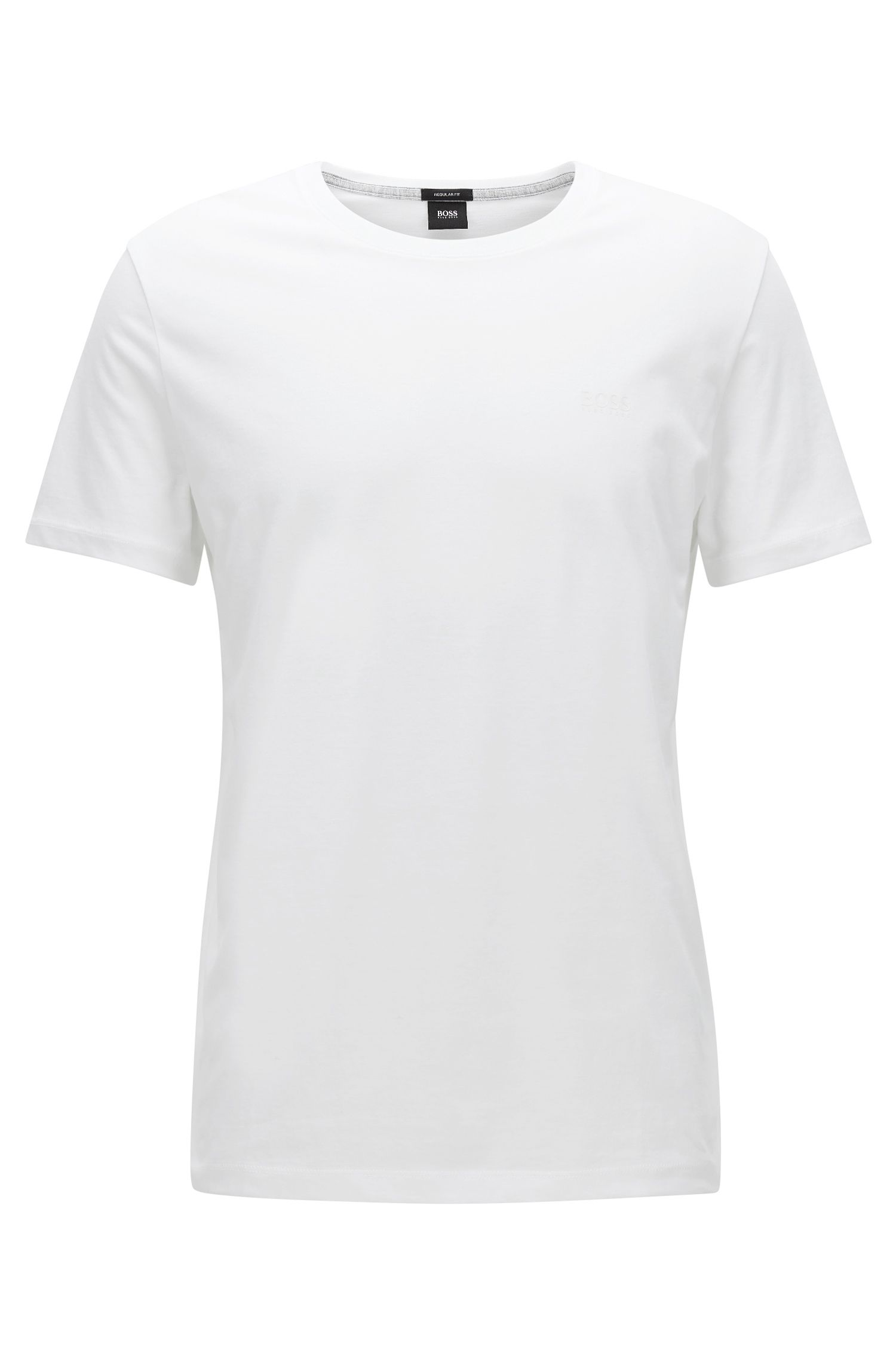 Regular-Fit T-Shirt aus weicher Baumwolle