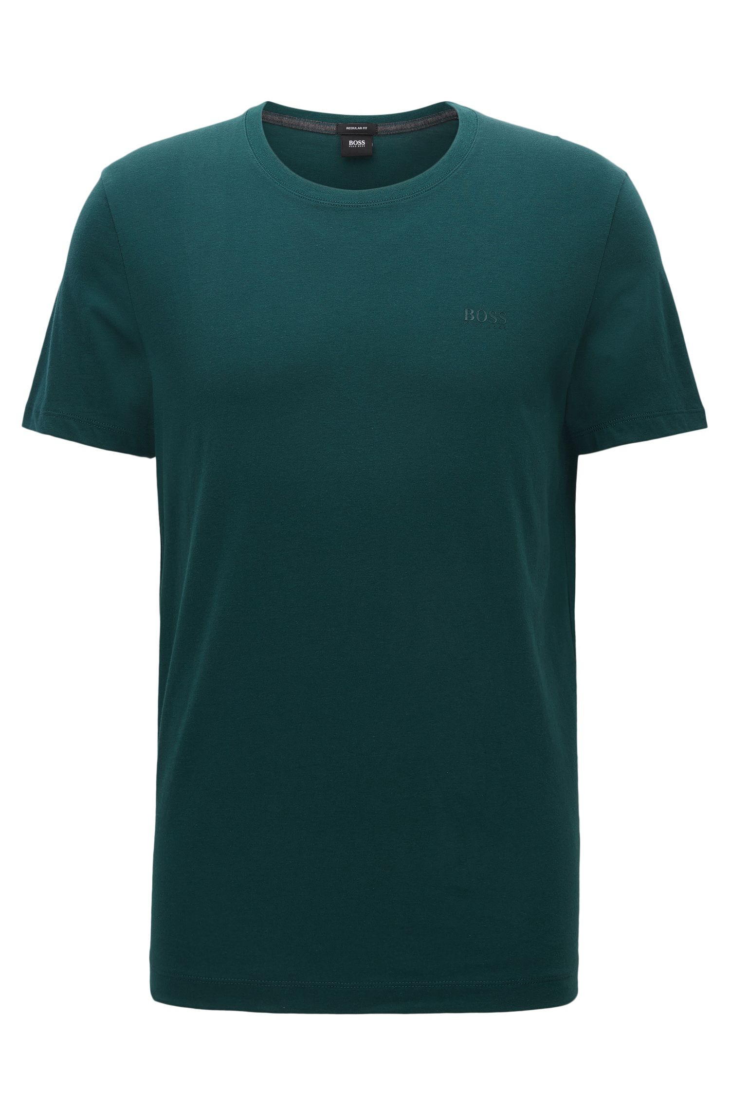 T-shirt regular fit in morbido cotone
