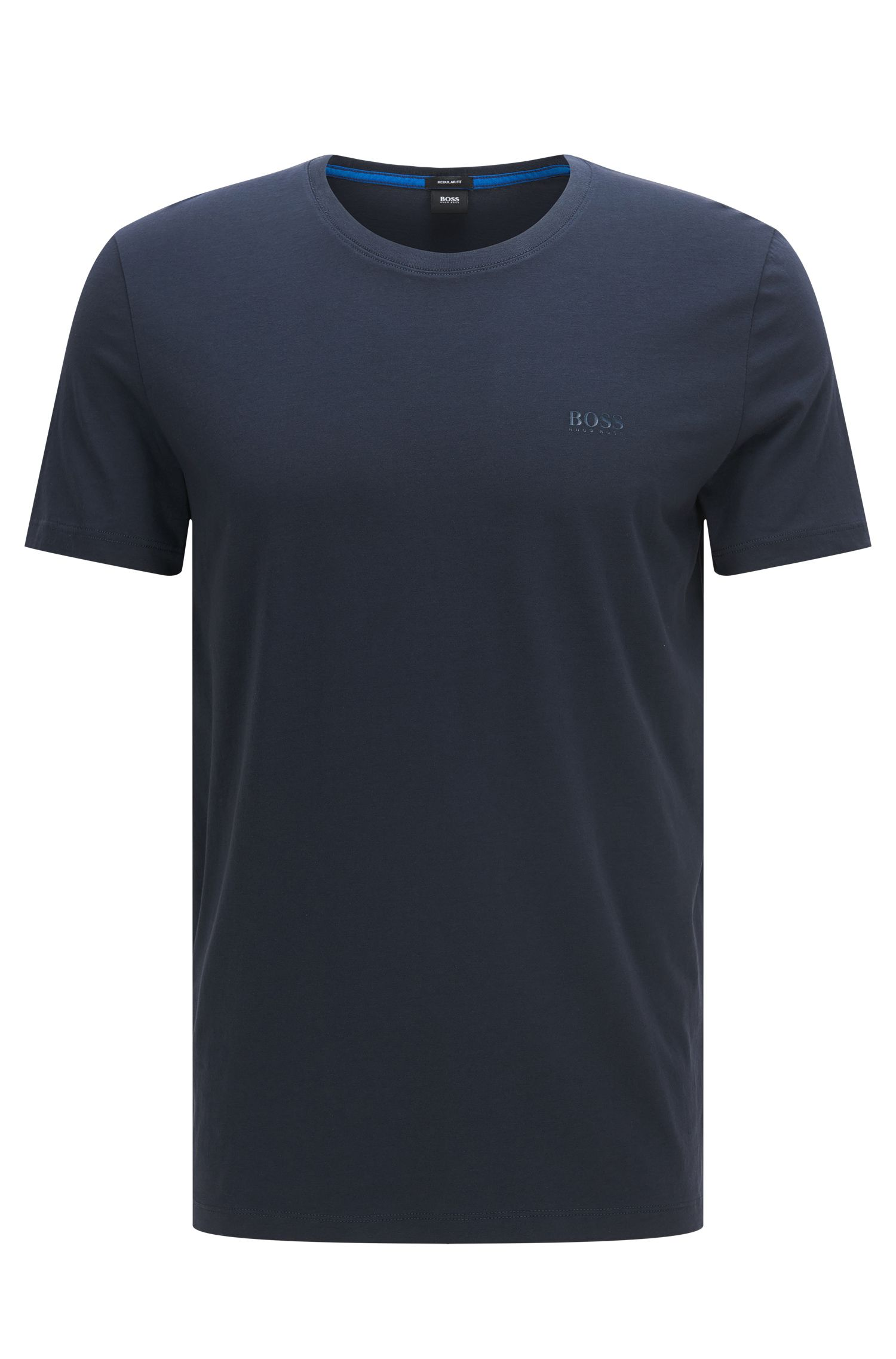 Camiseta regular fit en algodón suave