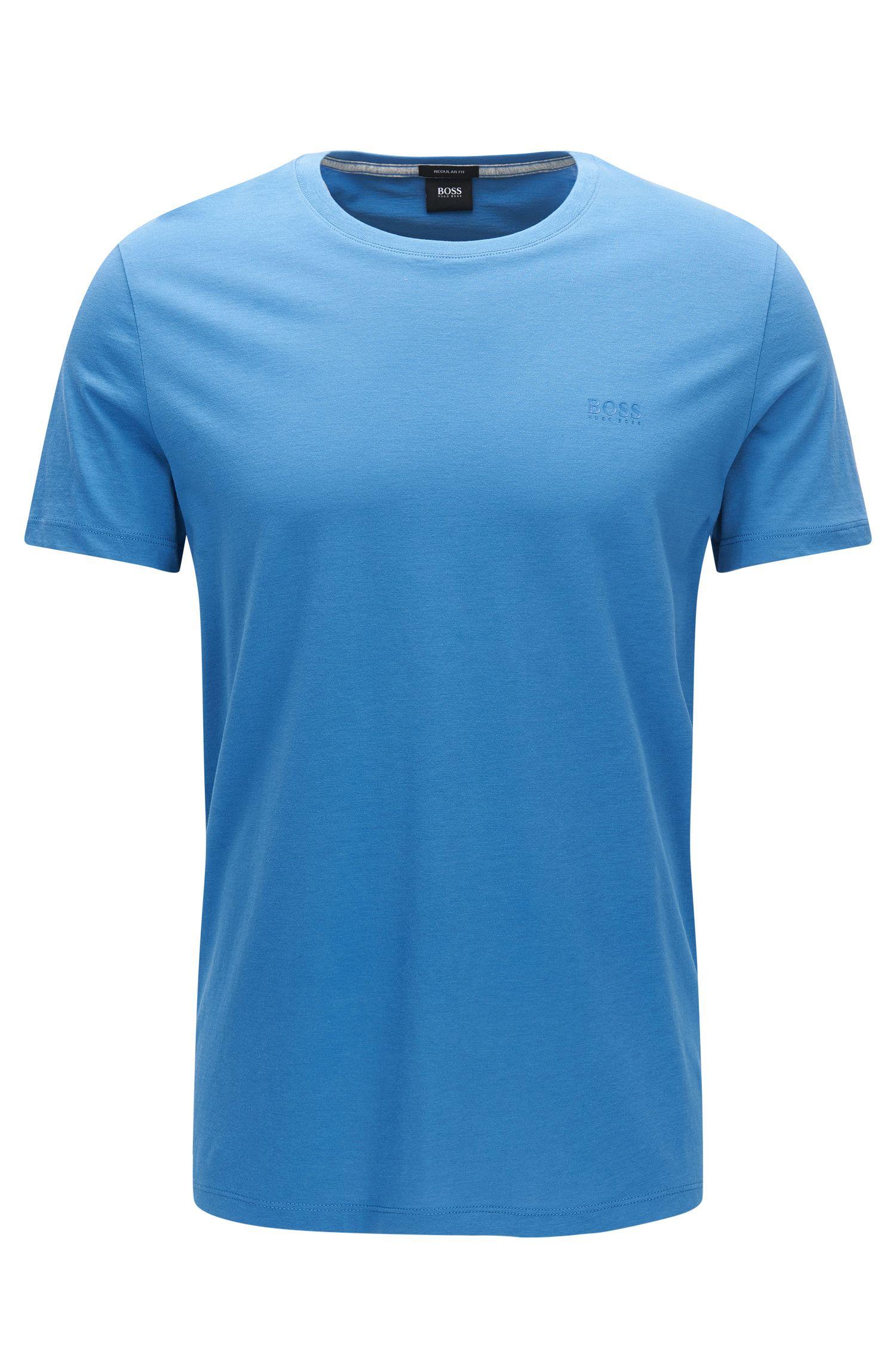 Regular-Fit T-Shirt aus weicher Baumwolle