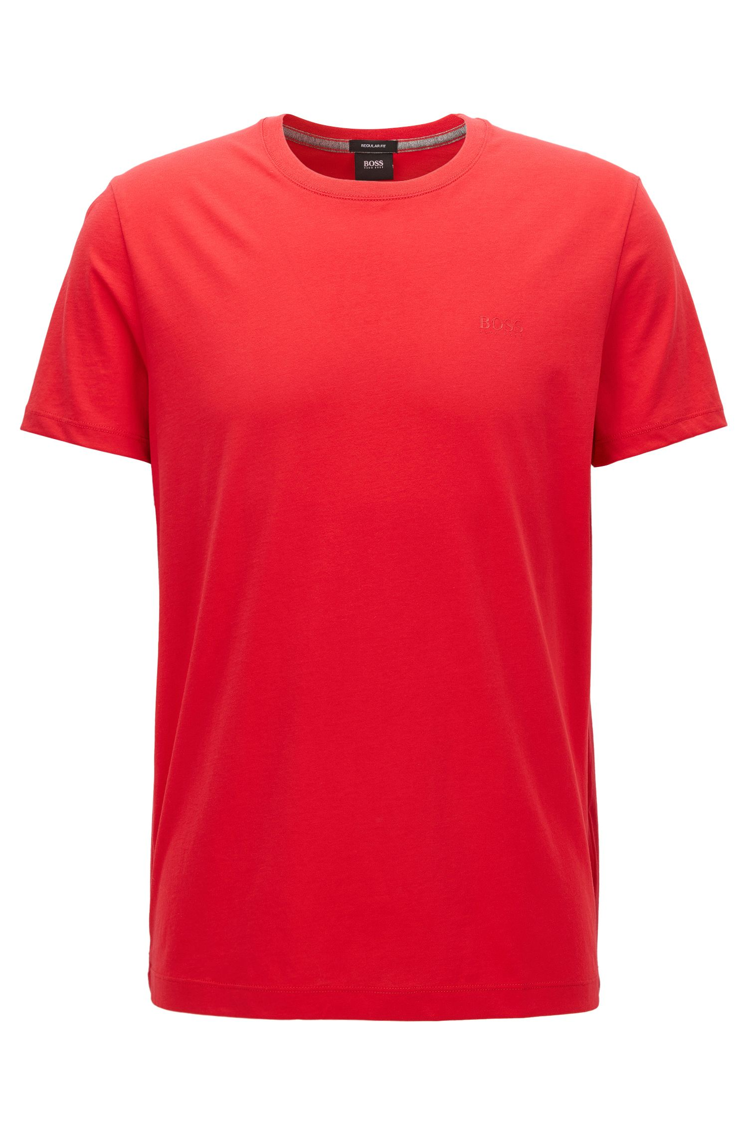 Regular-fit T-shirt in soft cotton