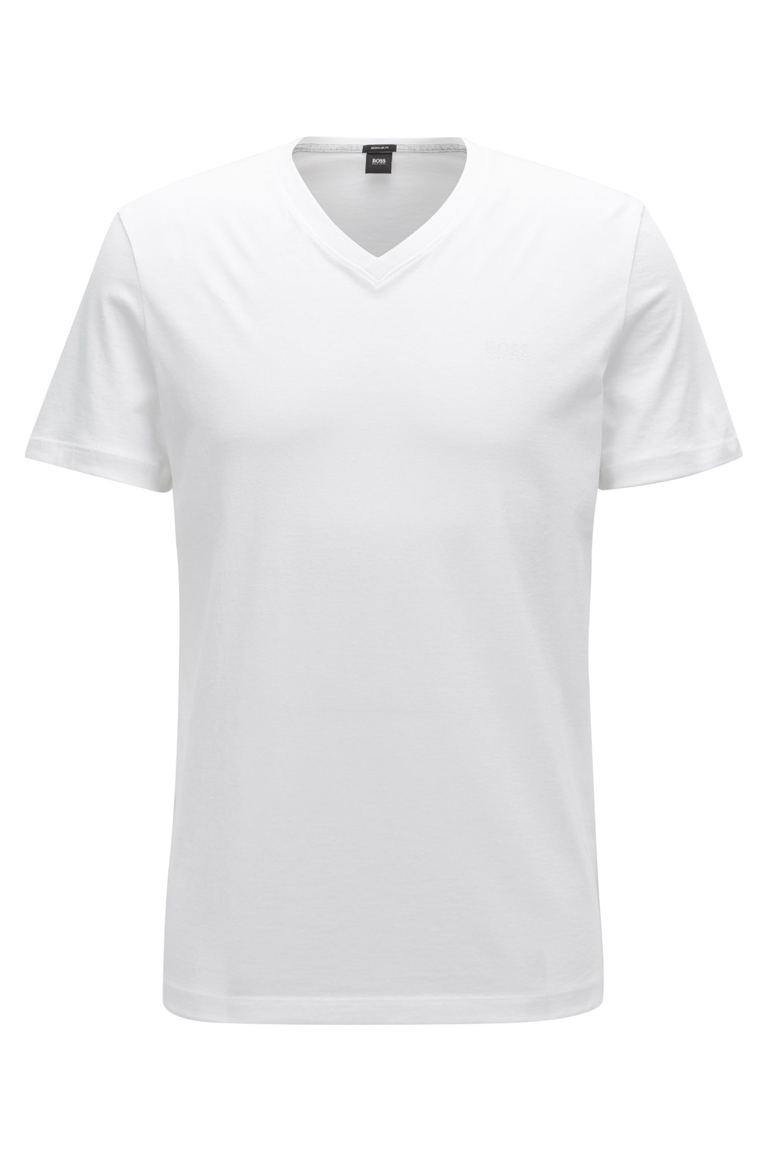 T-shirt Regular Fit uni en coton : « Tilson 11 »