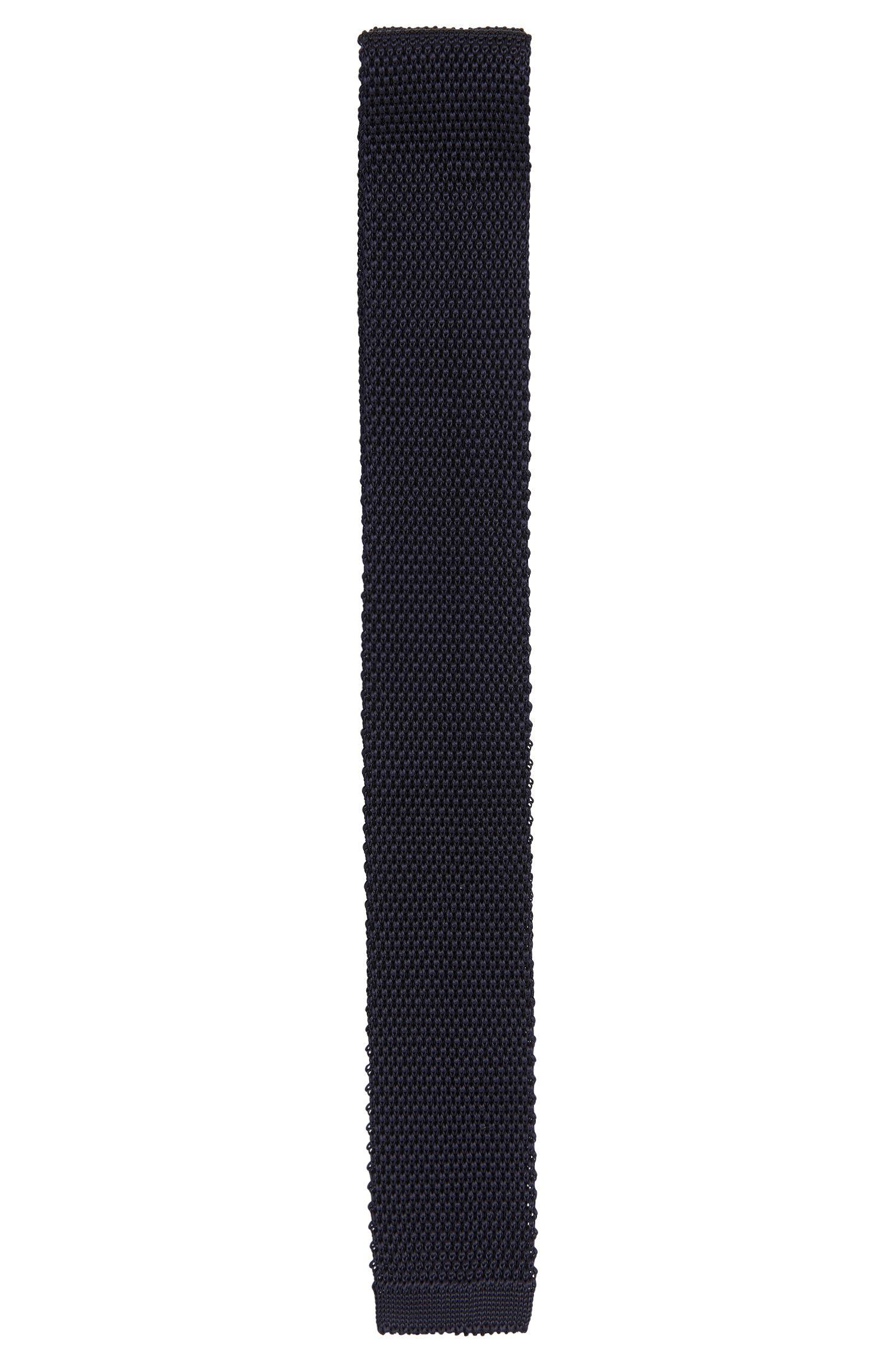 Gebreide stropdas van viscose: 'Tie 5 cm knitted'