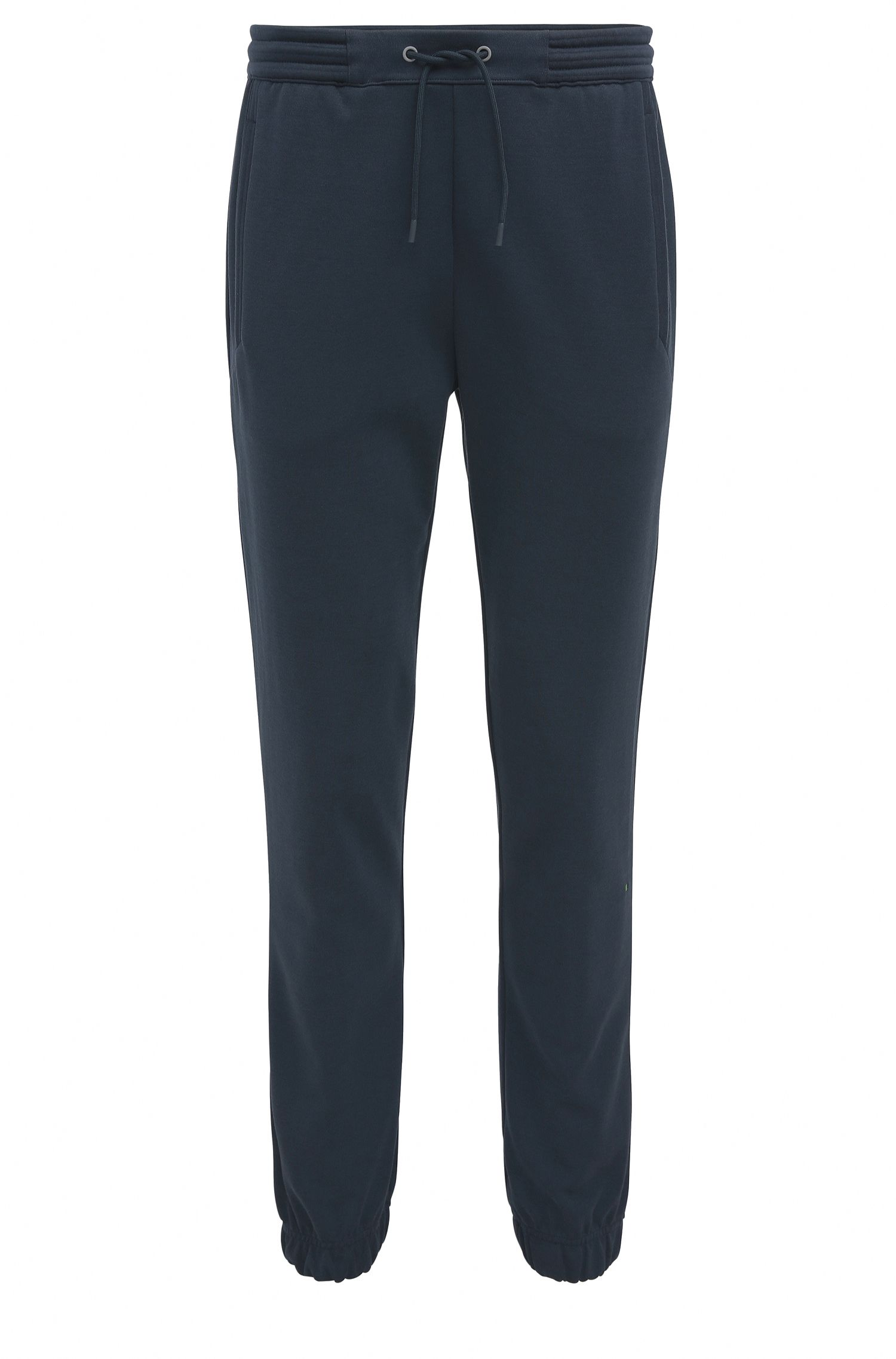 Regular-fit jogging trousers in cotton blend