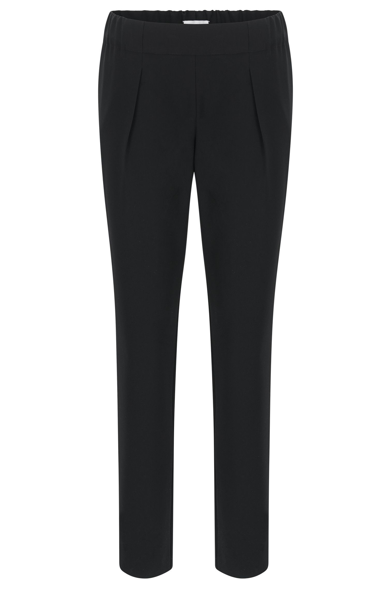 Relaxed-fit trousers with jogger styling