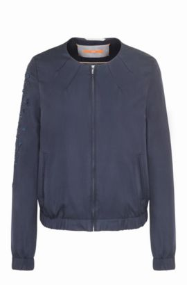 Relaxed-fit blouson jacket , Dark Blue