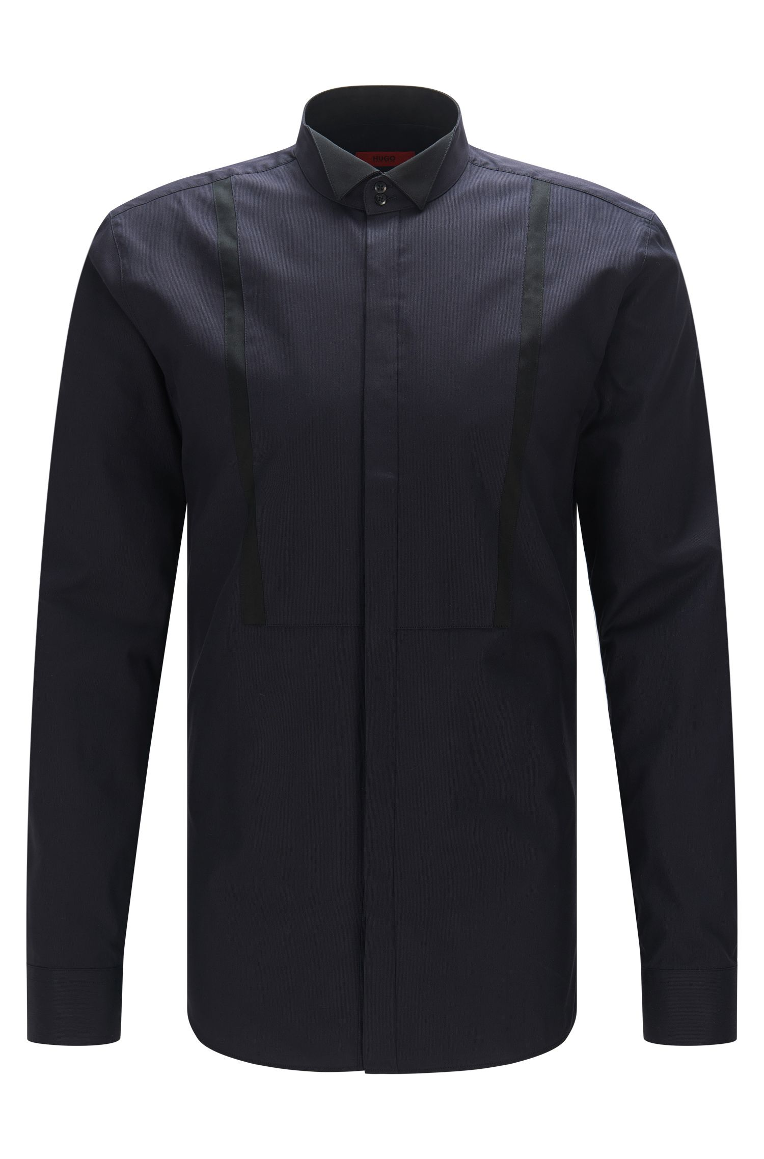 Chemise Extra Slim Fit à rayures contrastantes