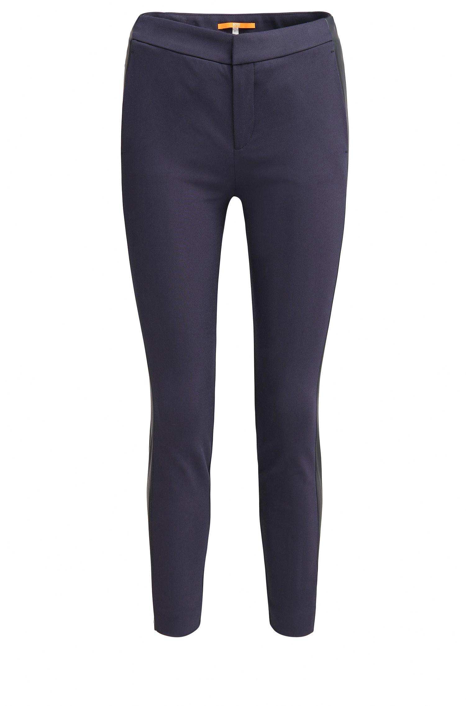 Slim-Fit Hose aus elastischem Baumwoll-Mix