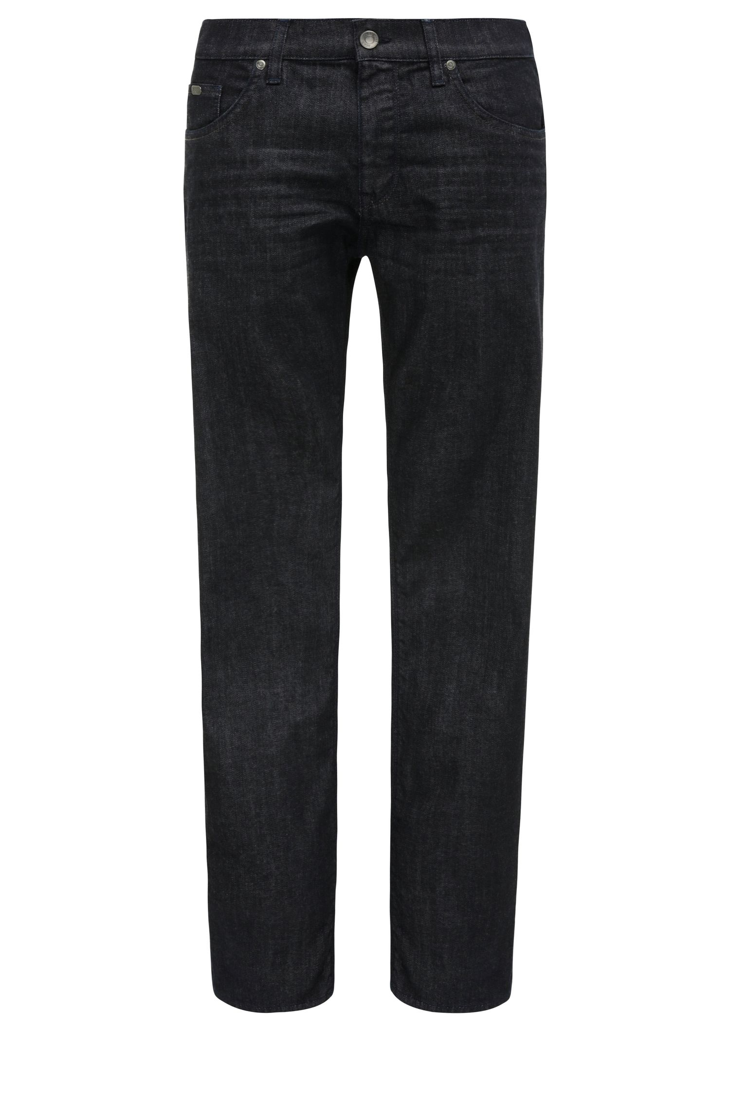 Regular-fit jeans van comfortabele stretchdenim