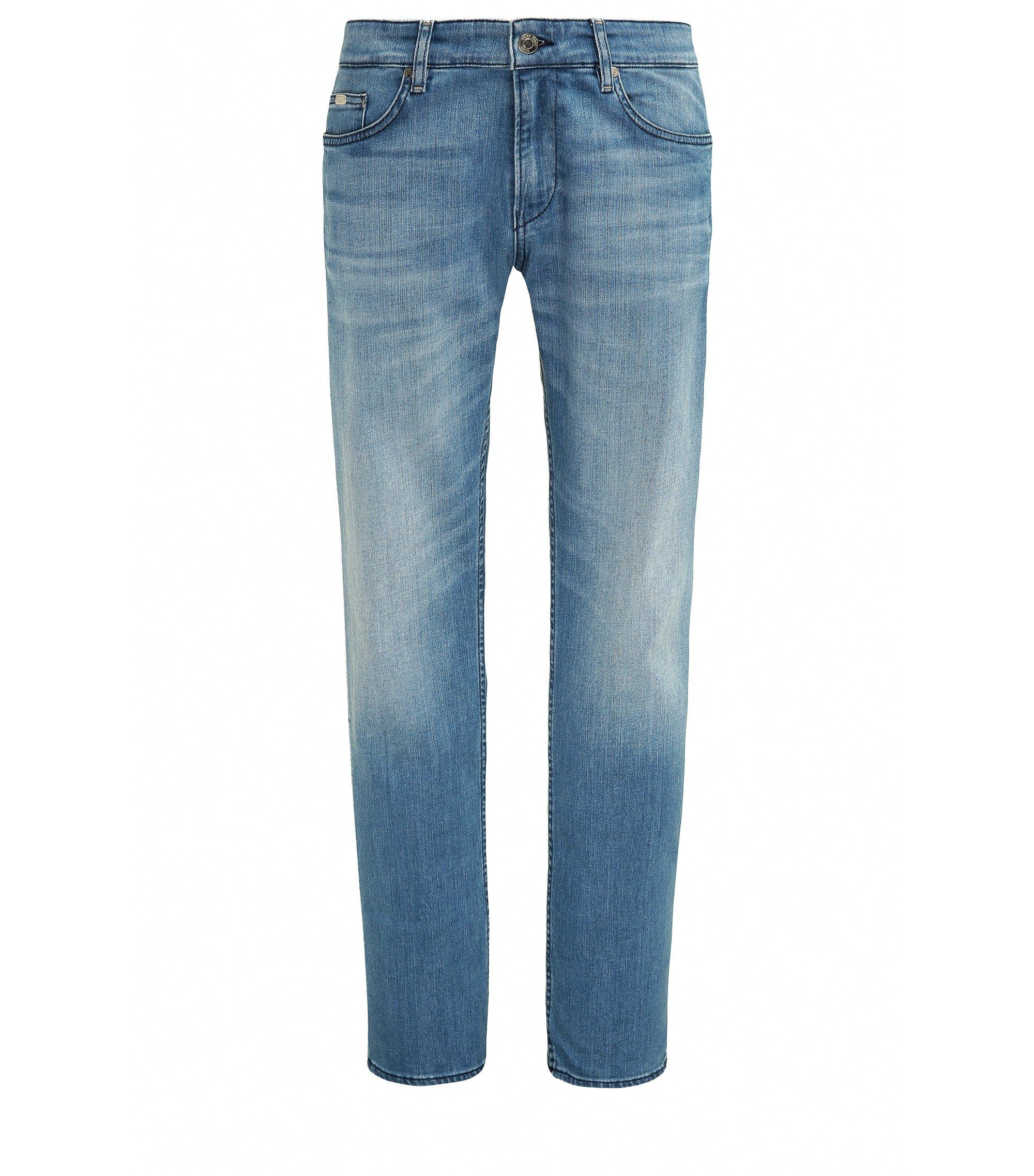 Slim-fit jeans in comfort-stretch denim, Blue